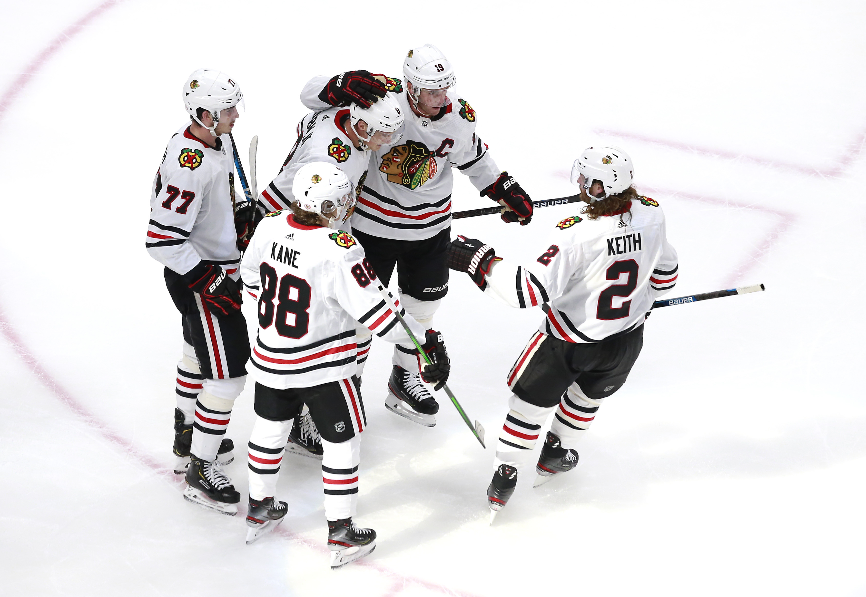 Despite the Blackhawks' youth movement, the preexisting core of Jonathan Toews, Patrick Kane and Duncan Keith will remain part of the team.