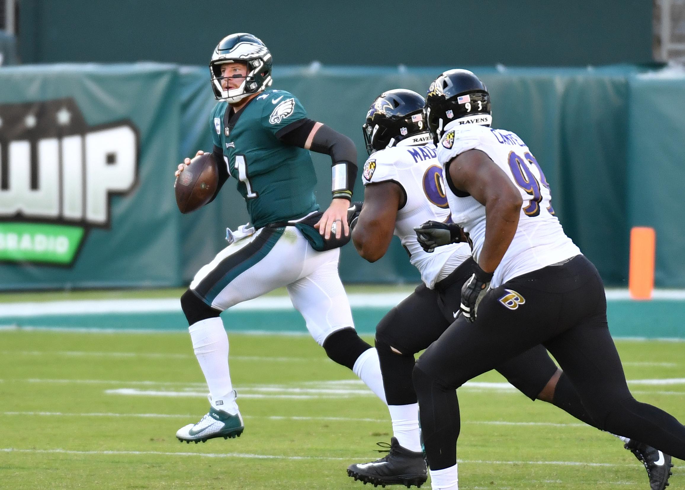 NFL: Baltimore Ravens at Philadelphia Eagles