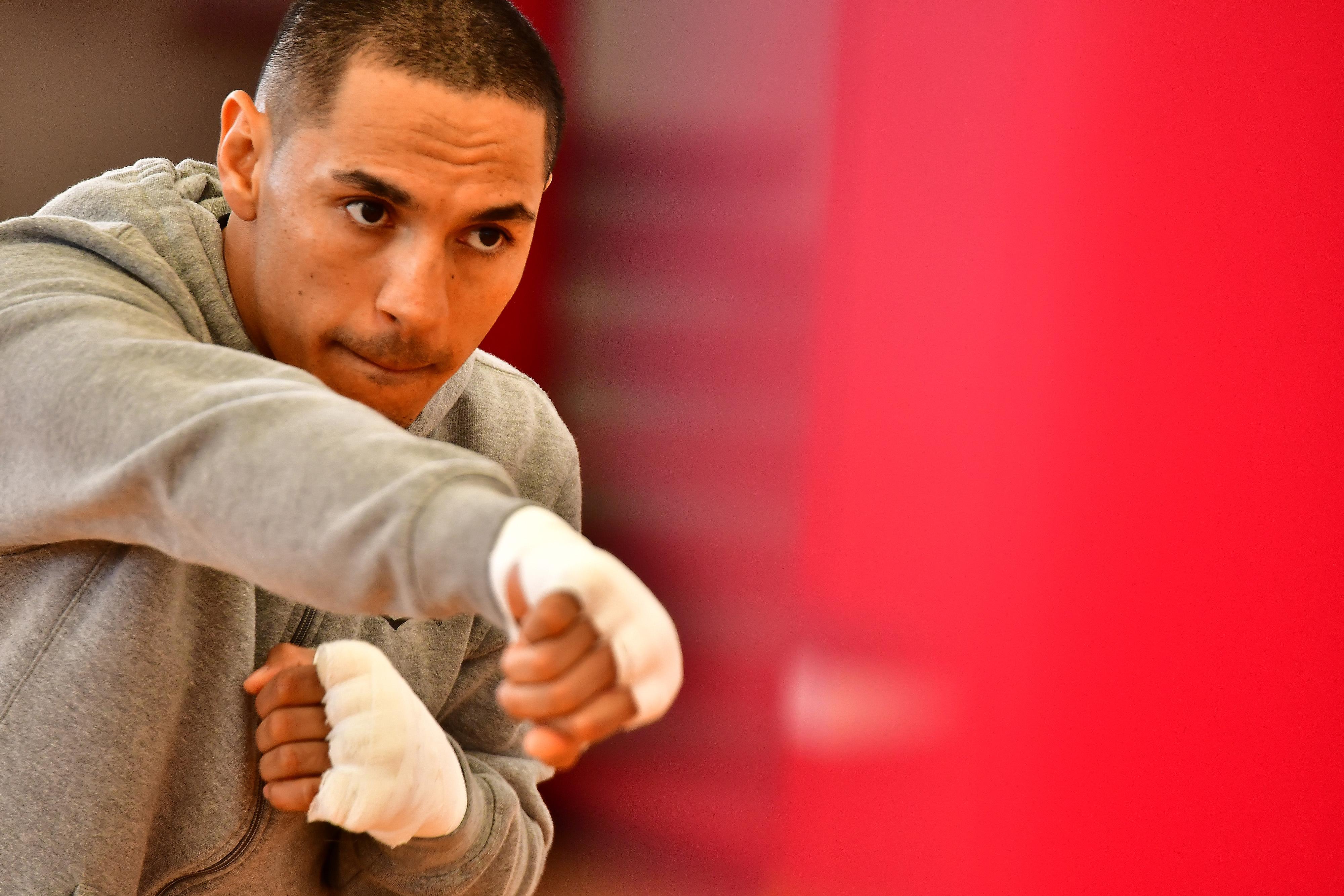 Mexican Boxers Juan Francisco Estrada And Miguel Berchelt Training Session