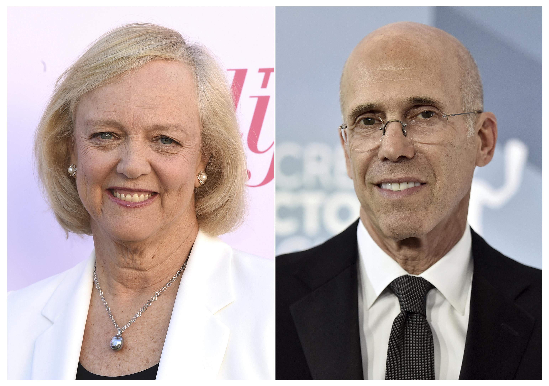 Meg Whitman and Jeffrey Katzenberg are among the major investors in Quibi.