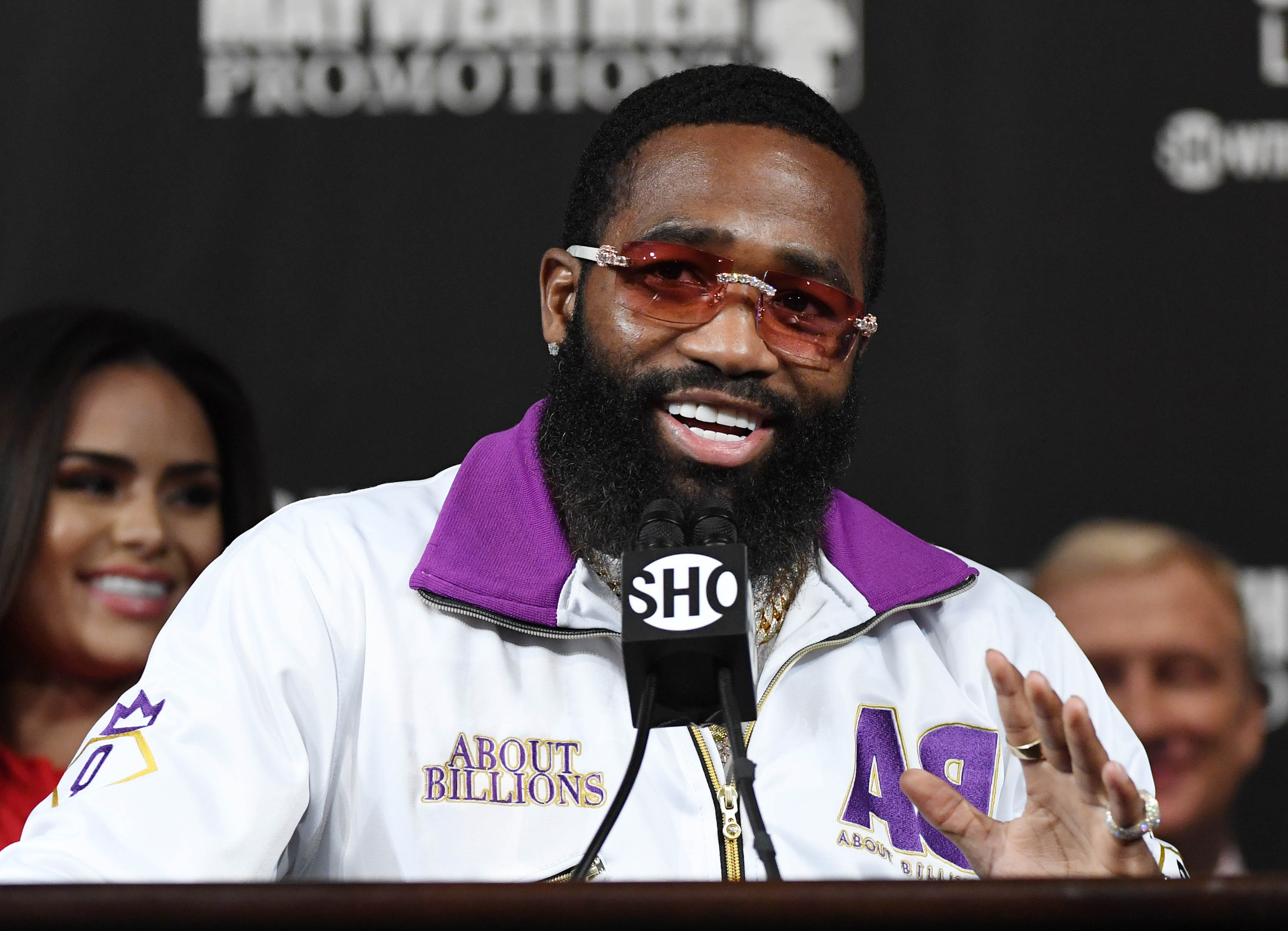 Manny Pacquiao v Adrien Broner - News Conference