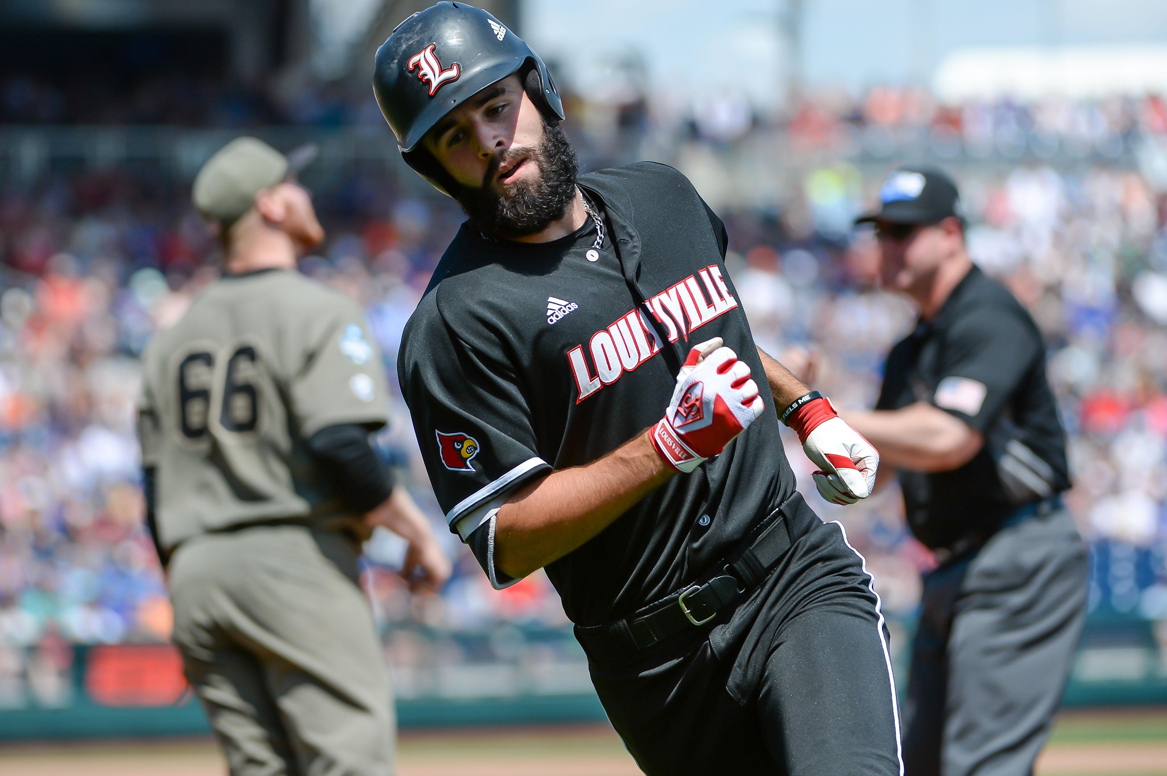 NCAA Baseball: College World Series-Louisville vs Vanderbilt