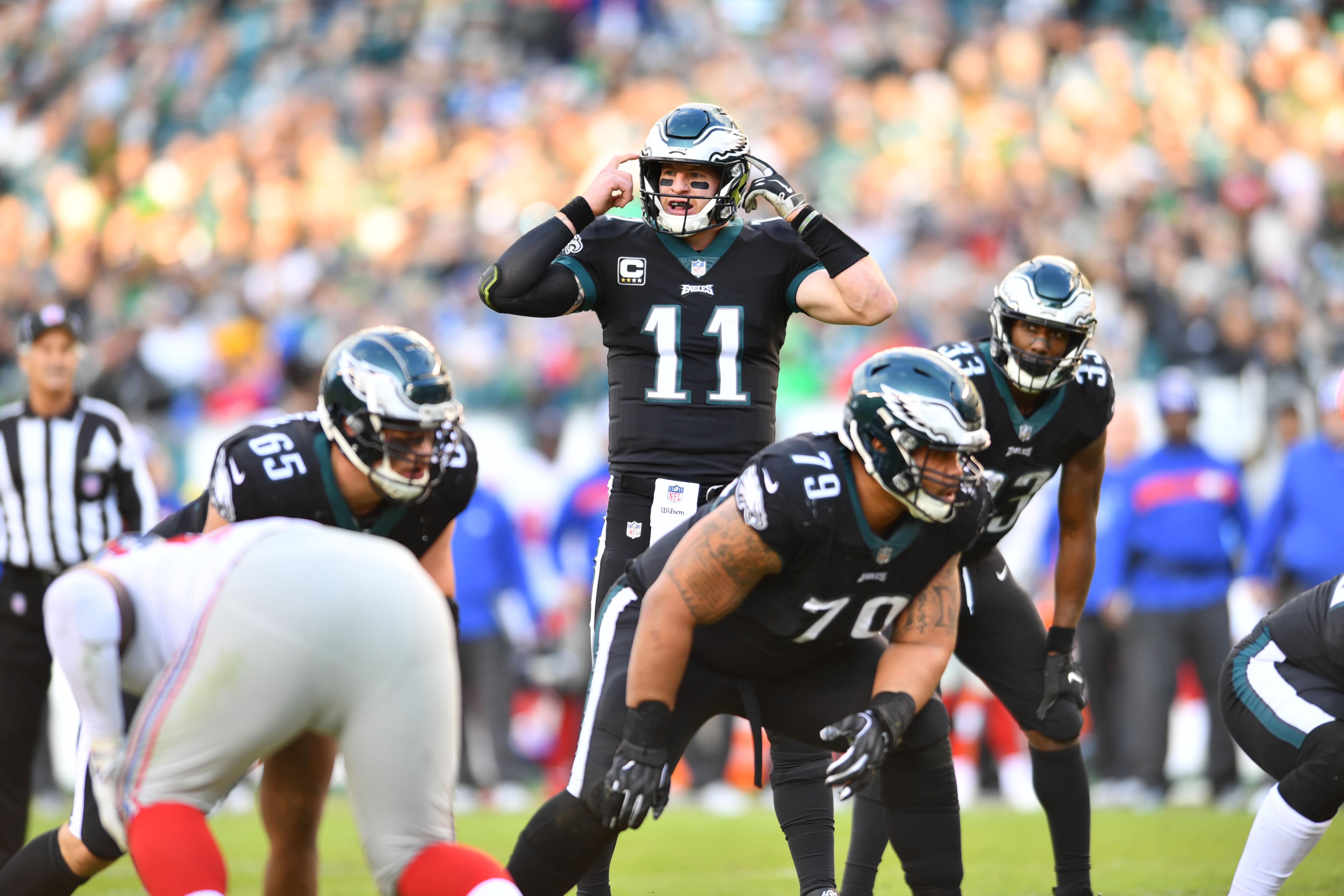 NFL: NOV 25 Giants at Eagles