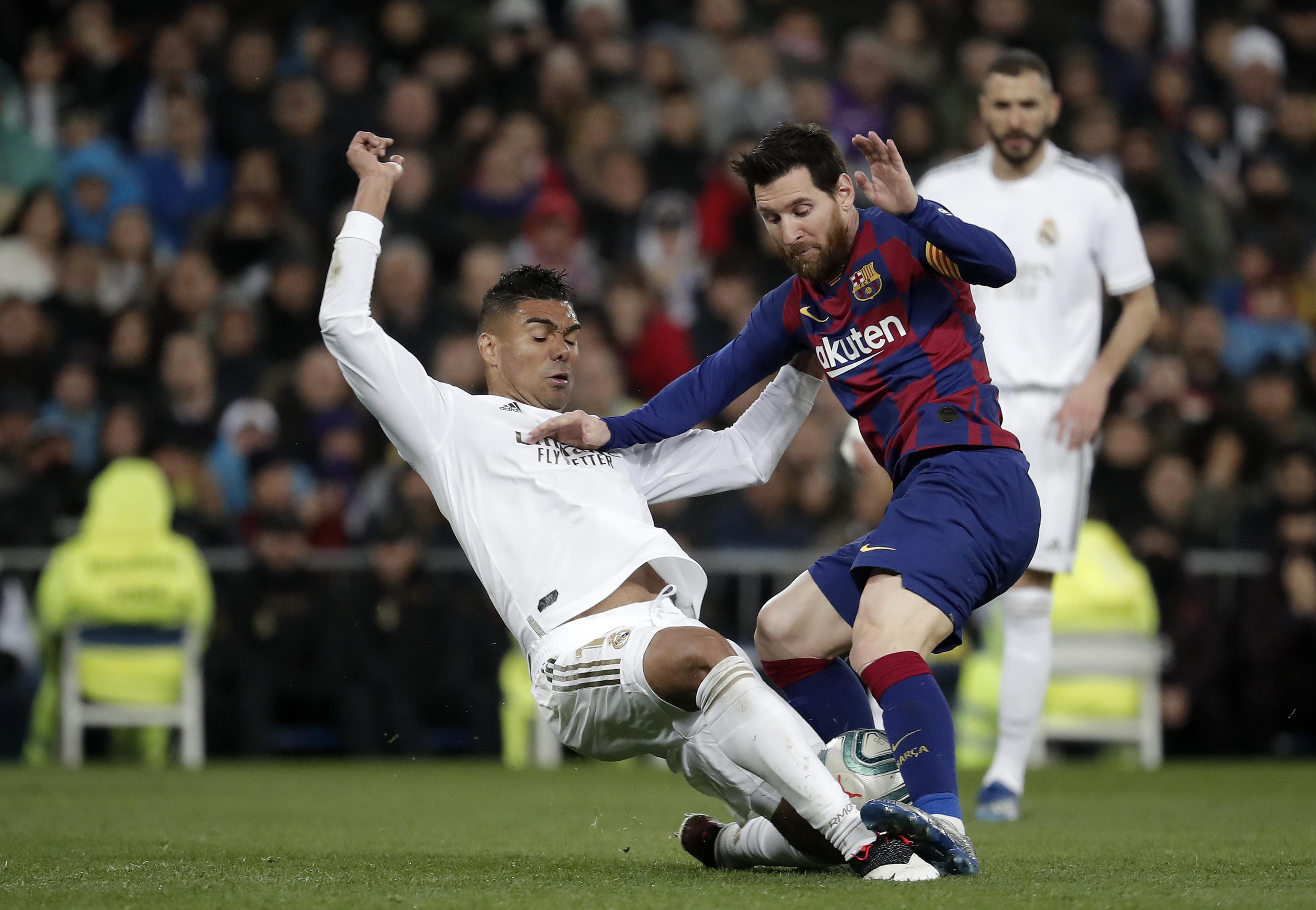 Real Madrid vs Barcelona - La Liga