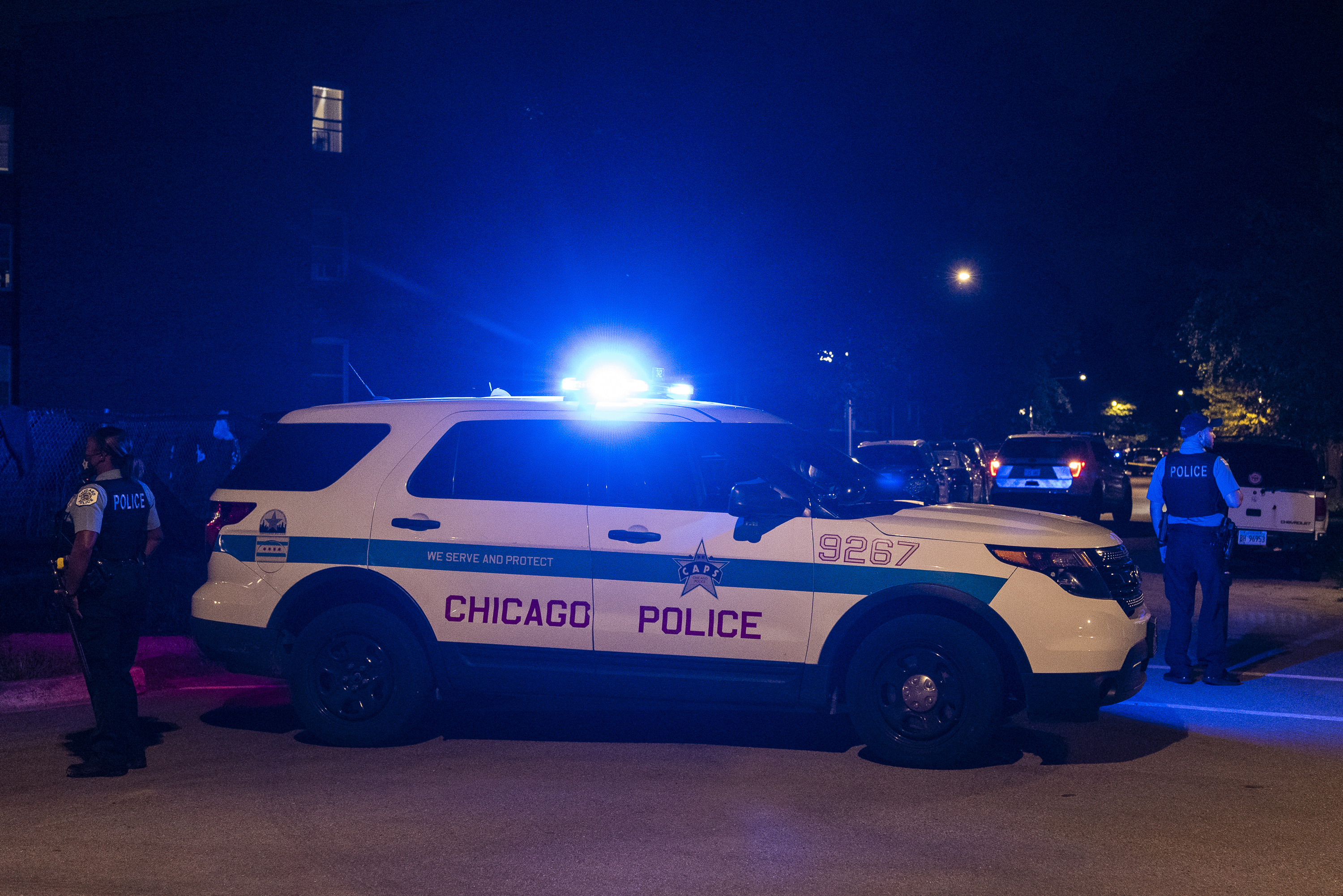 Gun violence left two people dead and nine others injured across Chicago Oct. 22, 2020.