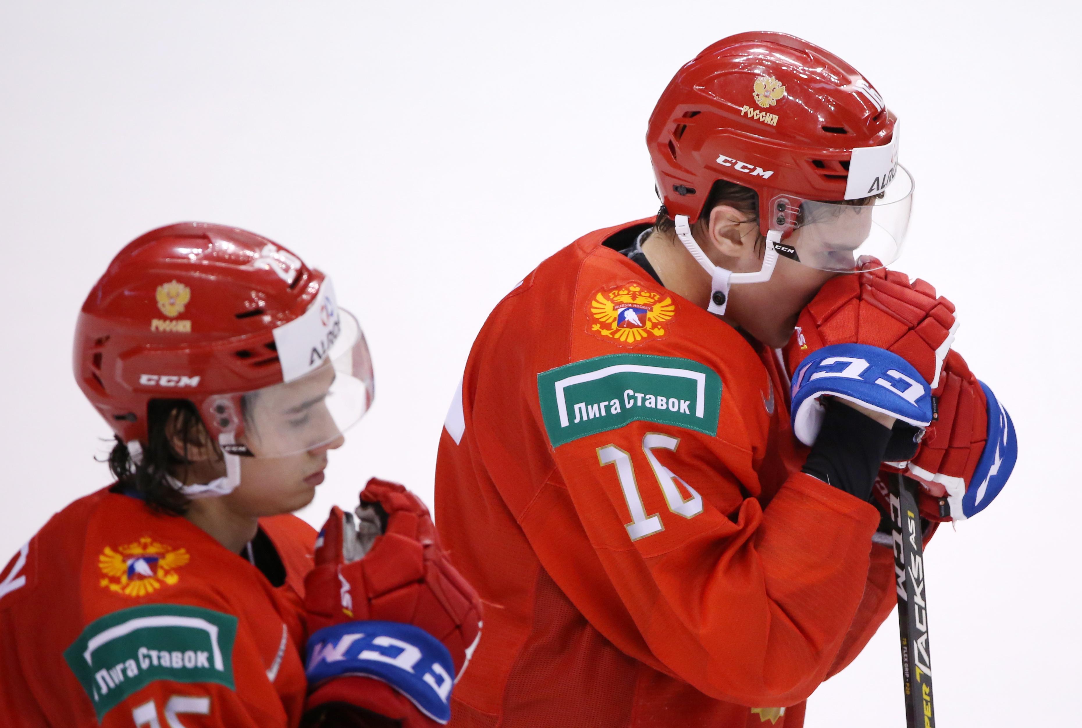 2019 IIHF World Junior Ice Hockey Championship semifinals: Russia 1 - 2 United States