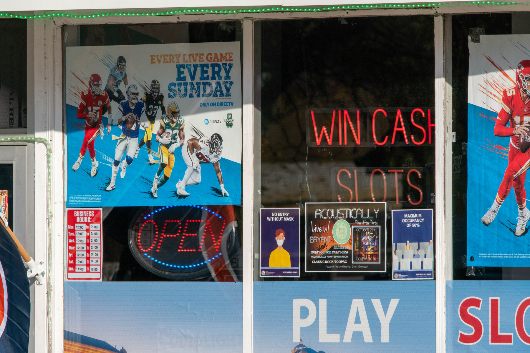 DaVinci's Gaming Bar, 10721 Ridgeland Ave., Chicago Ridge.
