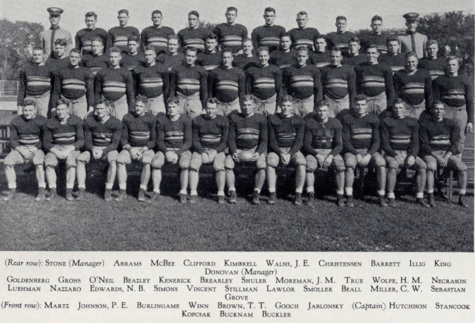 Army West Point football in 1933