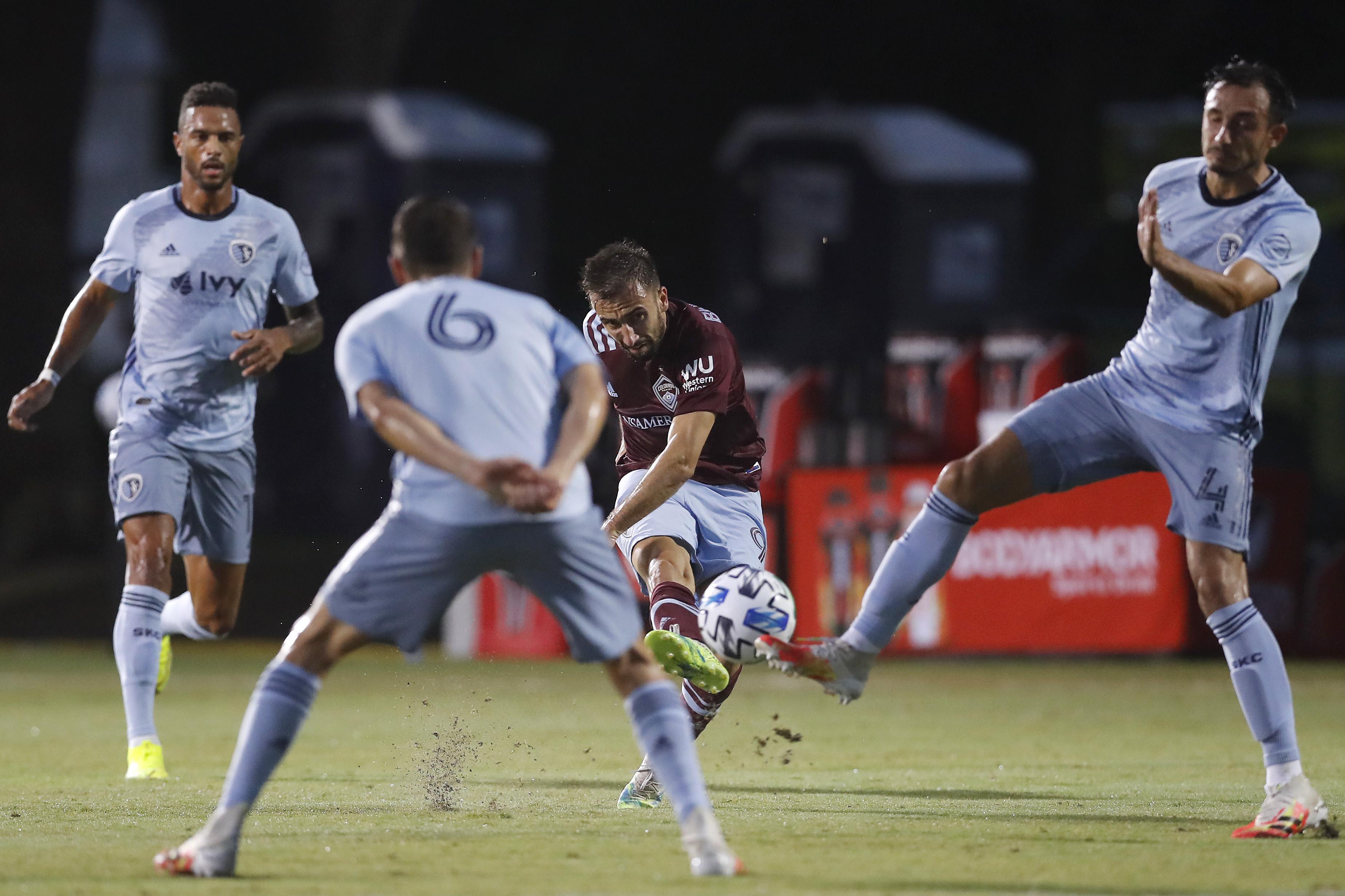 Sporting Kansas City v Colorado Rapids - MLS Is Back Tournament