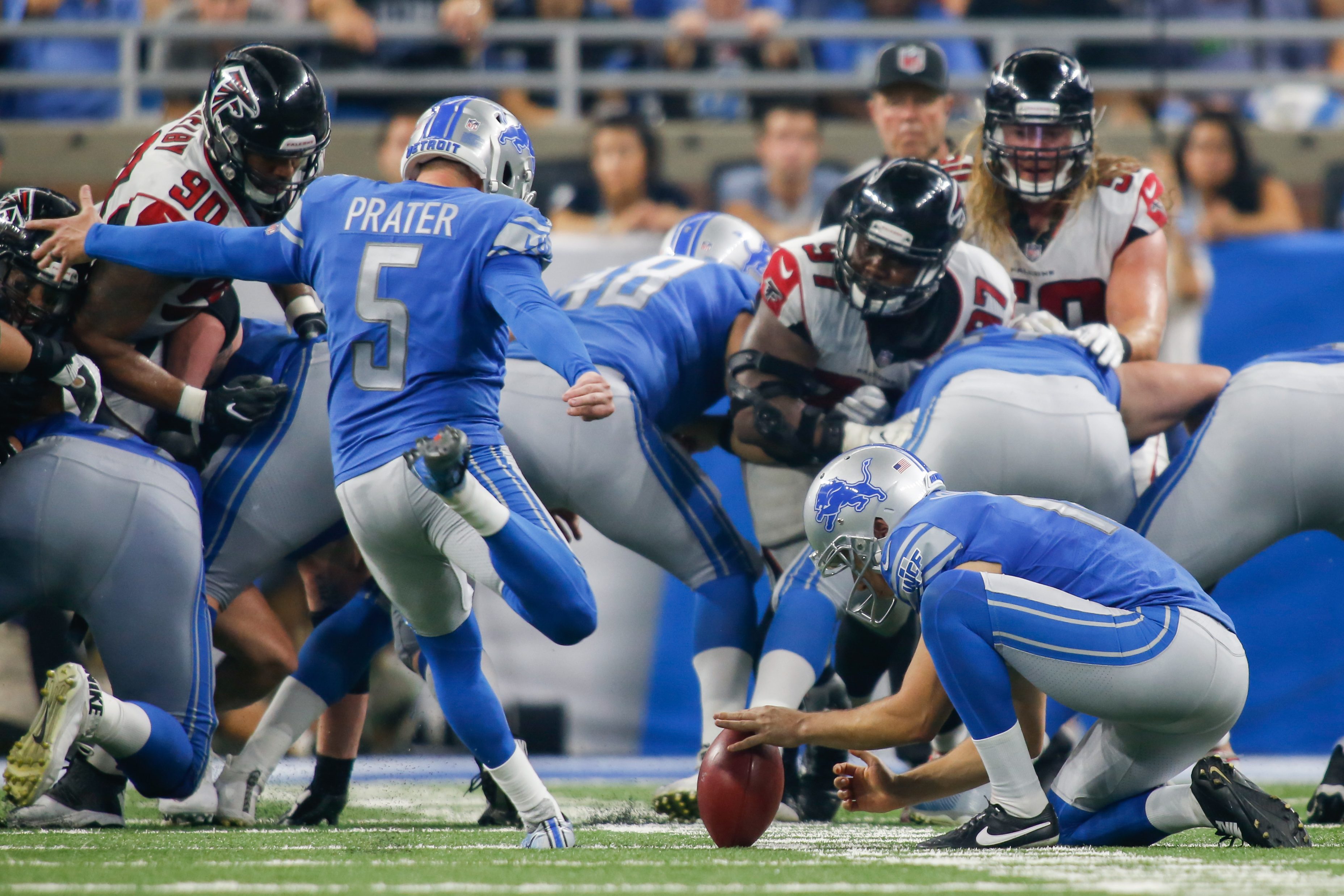 NFL: SEP 24 Falcons at Lions