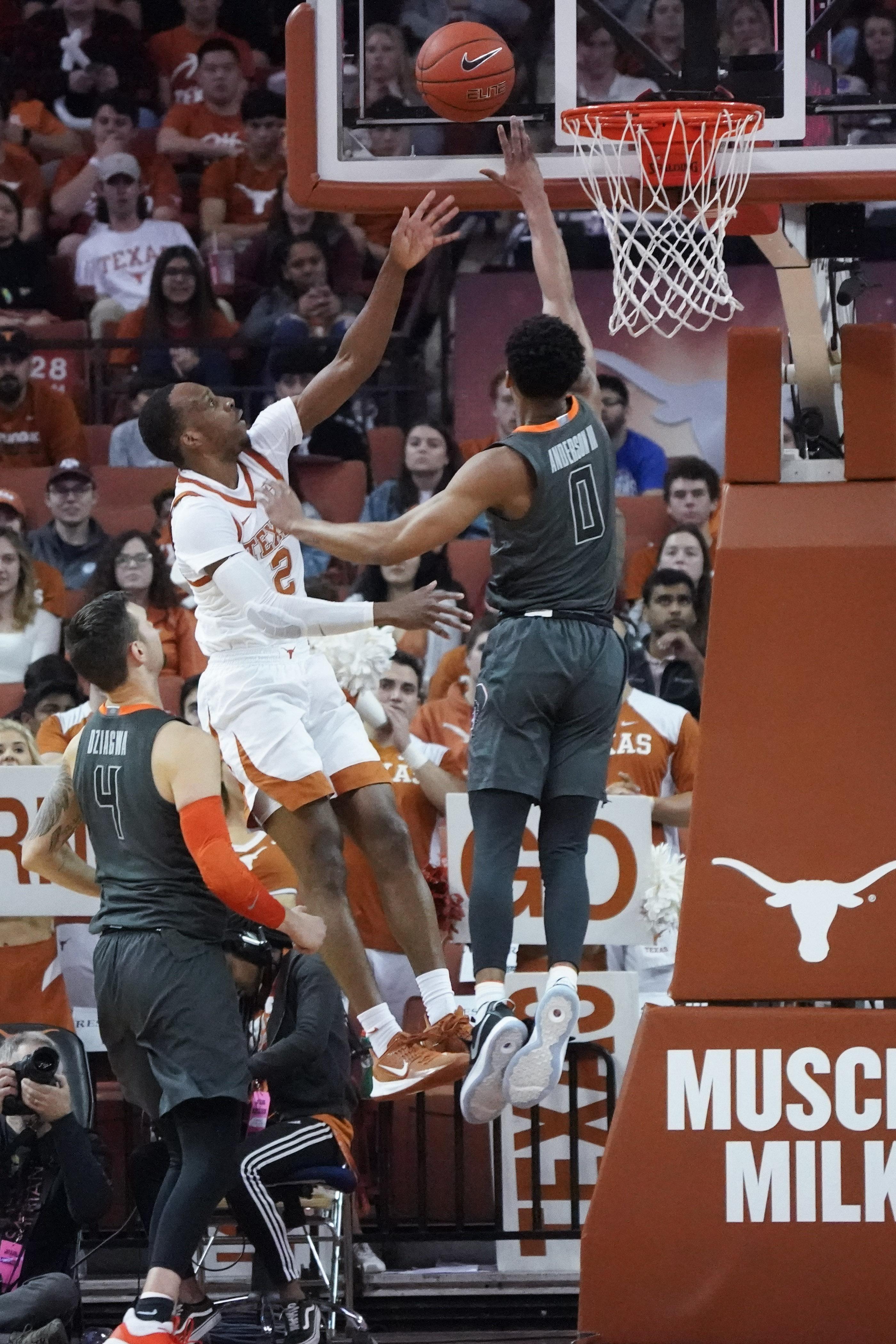 NCAA Basketball: Oklahoma State at Texas