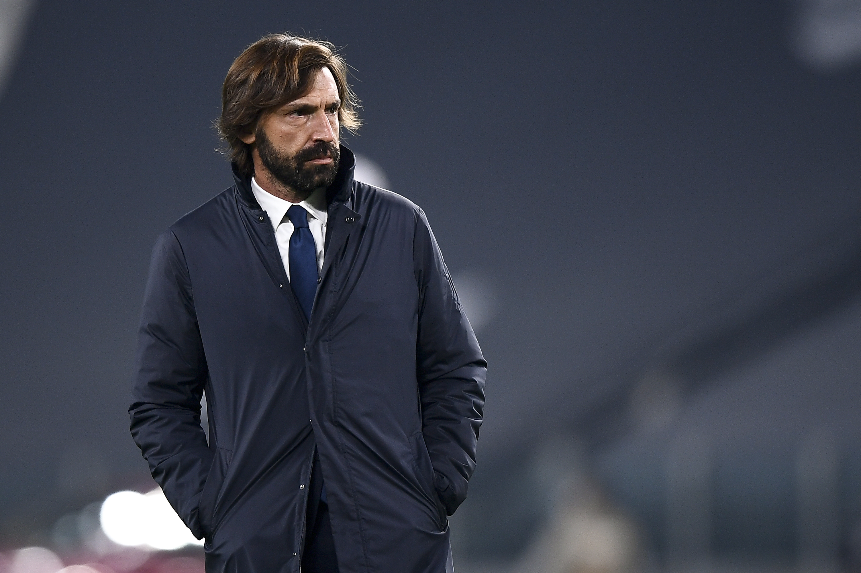 Andrea Pirlo, head coach of Juventus FC - UEFA Champions League