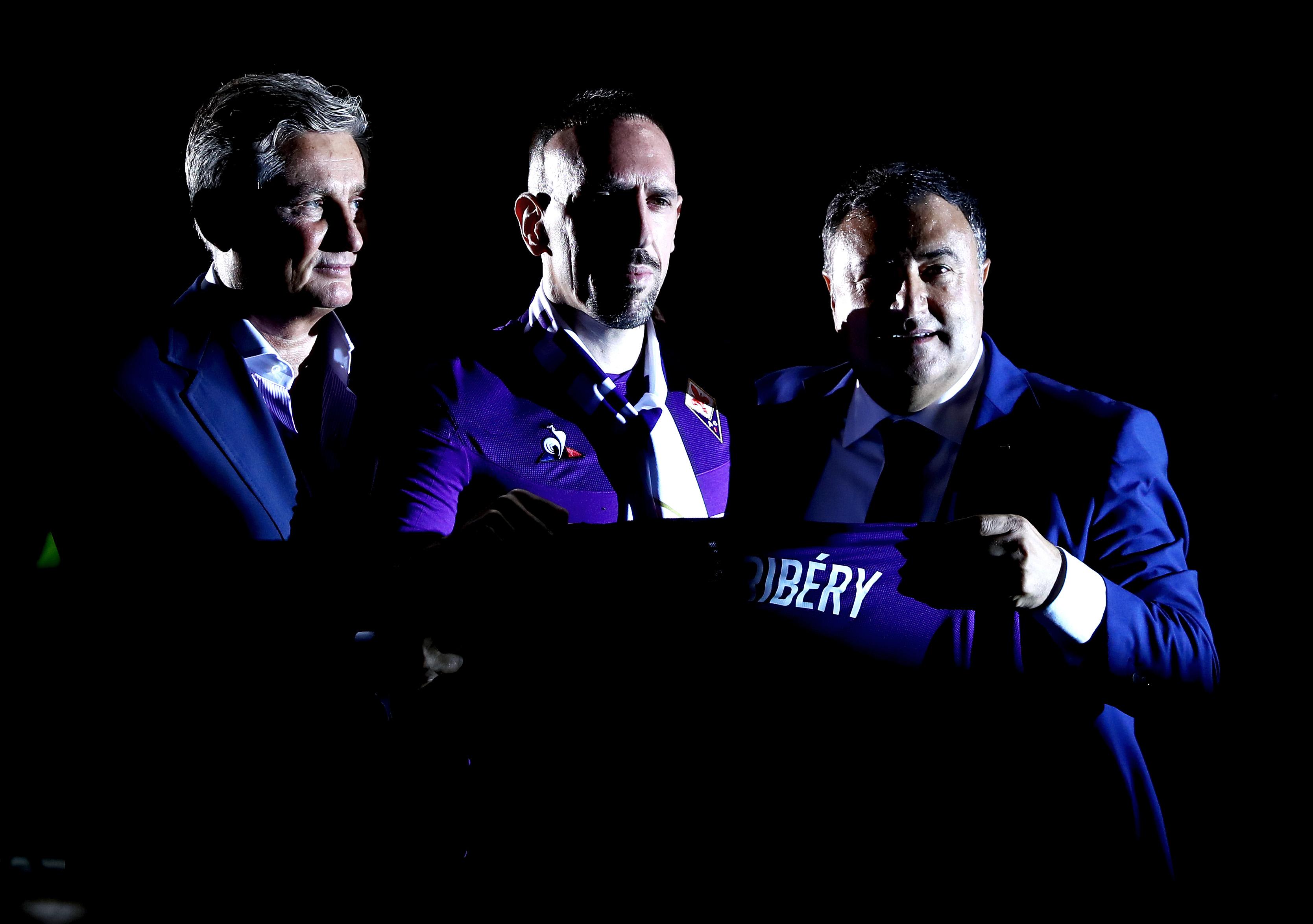 AC Fiorentina unveil new signing Franck Ribery - Serie A