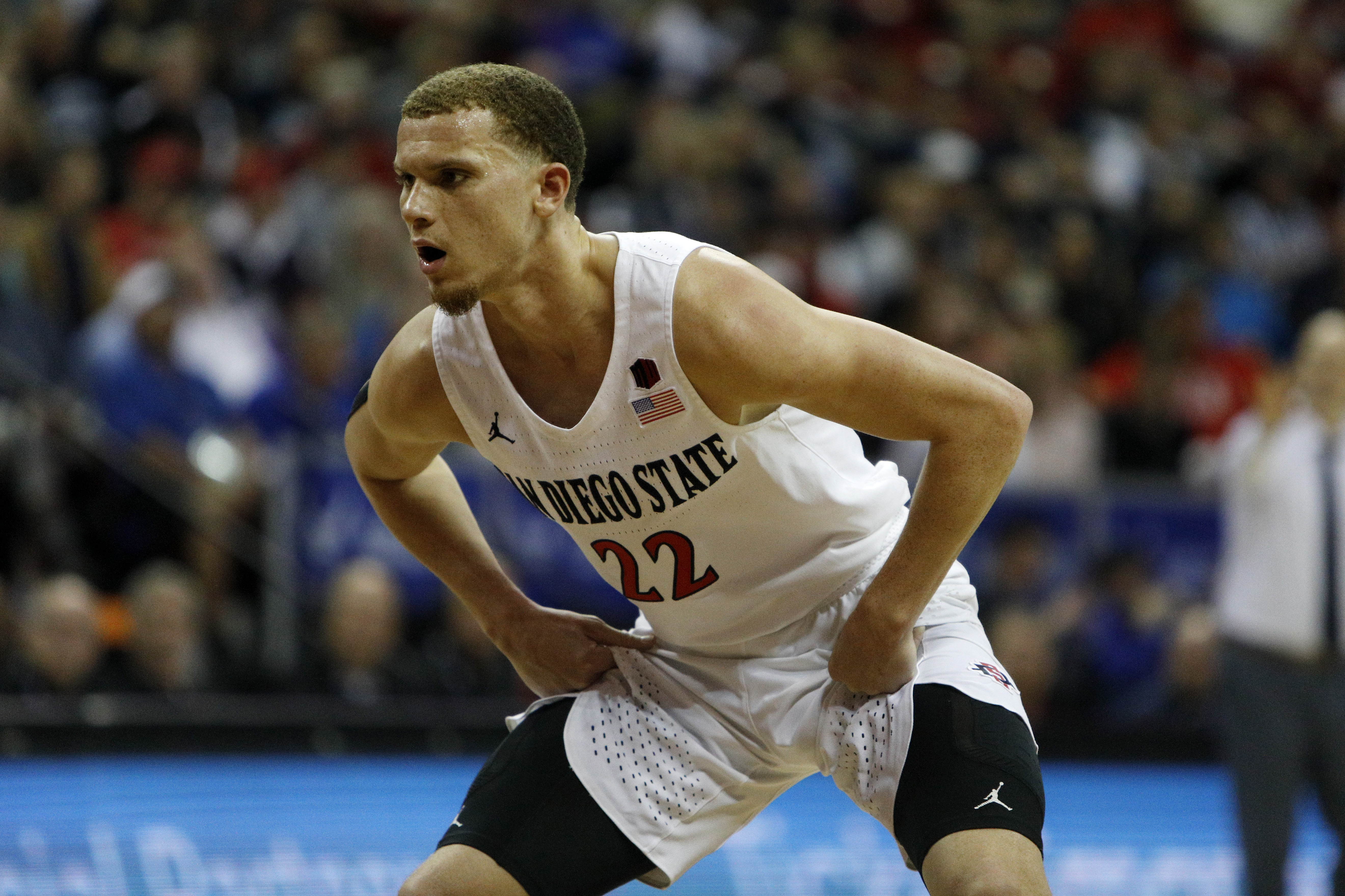 Mountain West Conference Basketball Tournament - San Diego State v Utah State