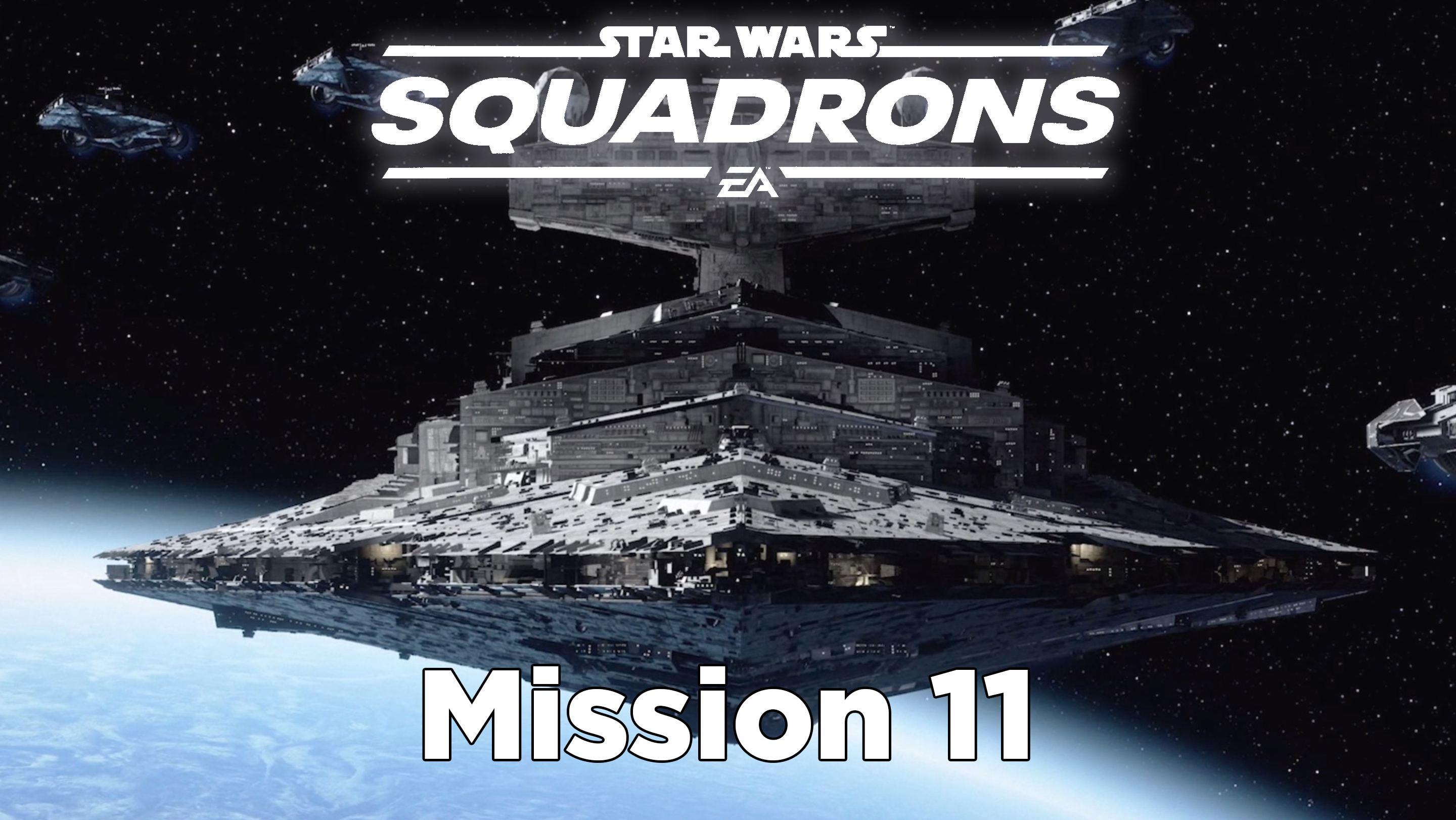 star wars squadrons mission 11 Nowhere to Stand walkthrough header