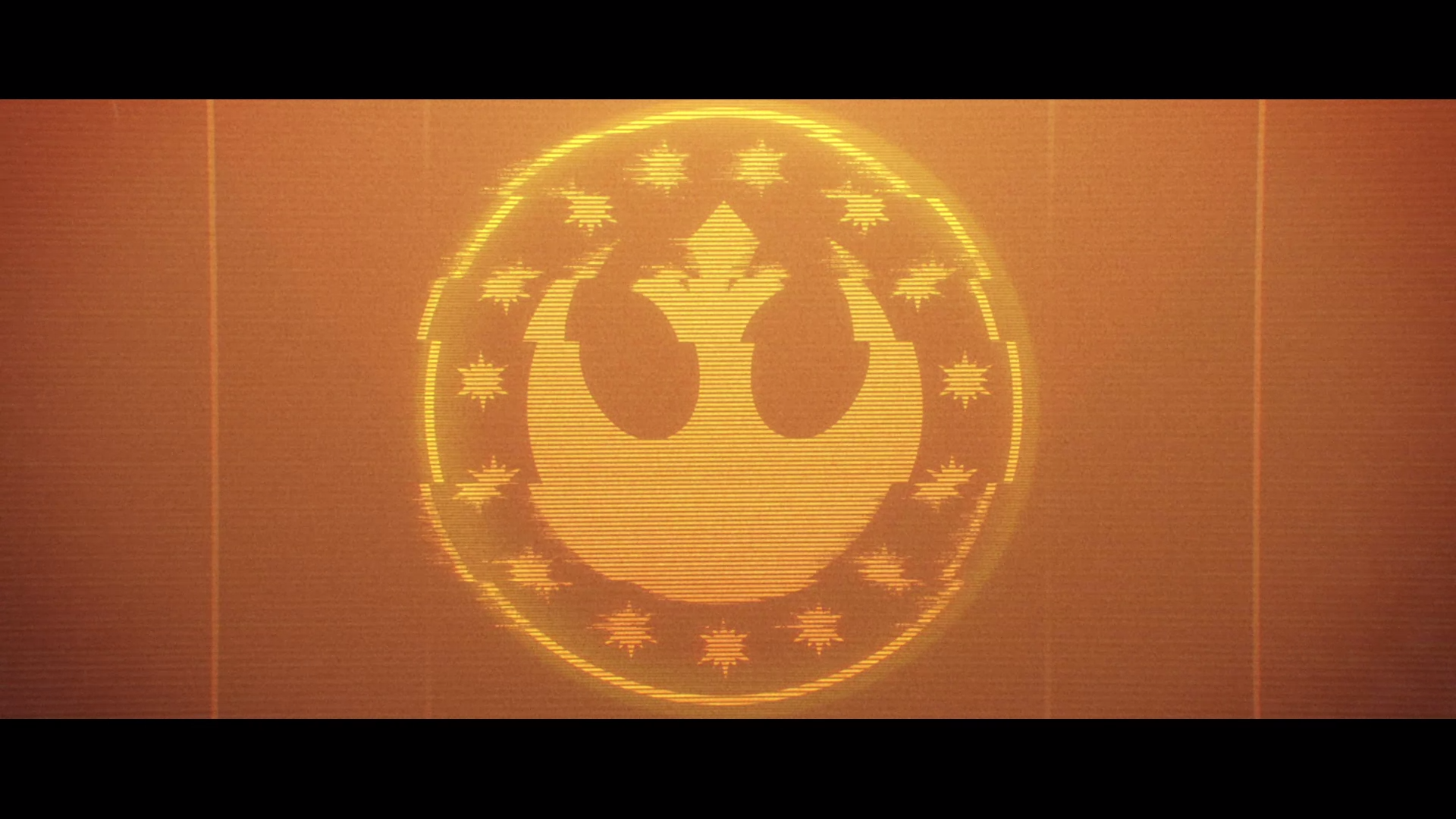 The Rebel logo in Star Wars: Squadrons
