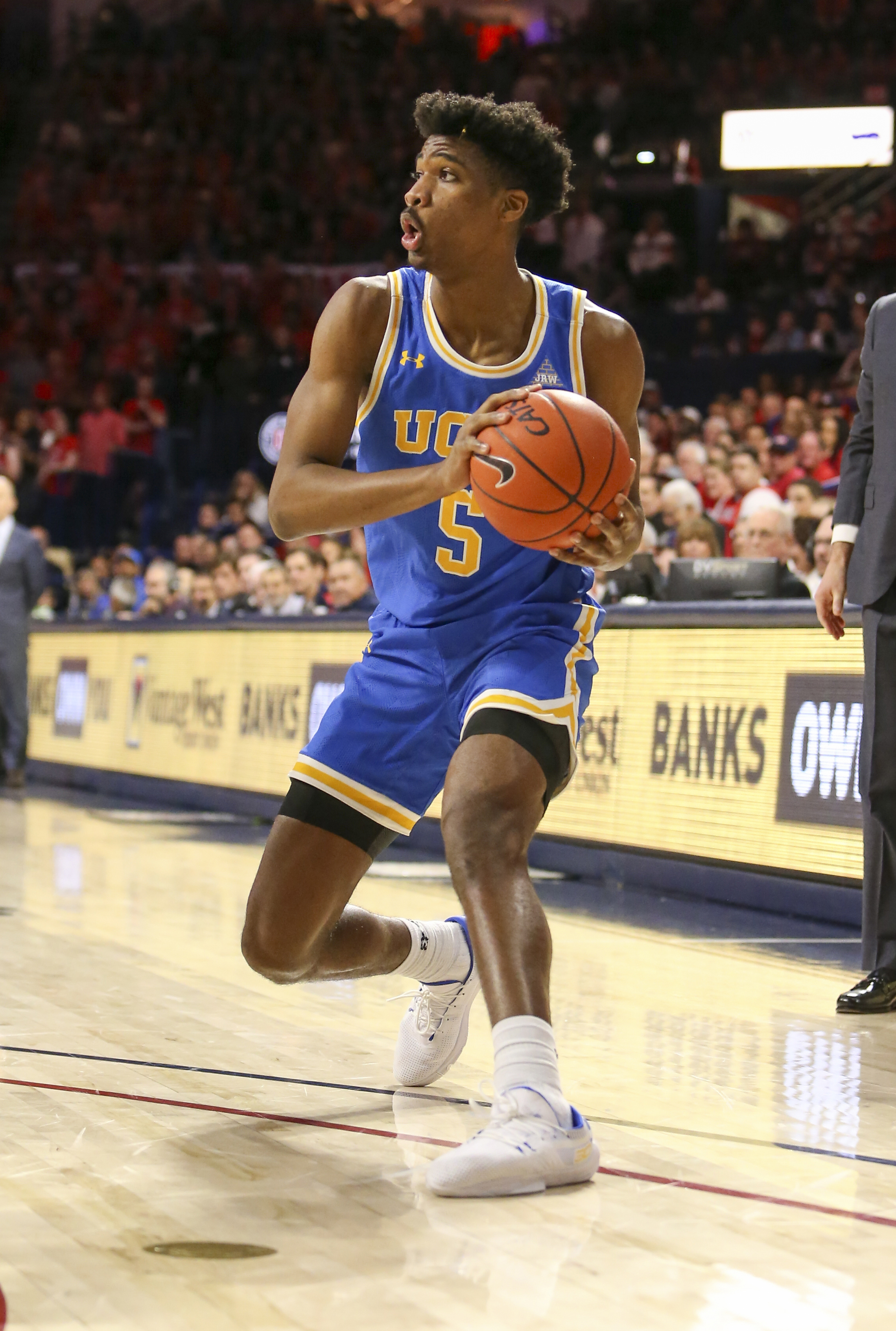 NCAA Basketball: UCLA at Arizona