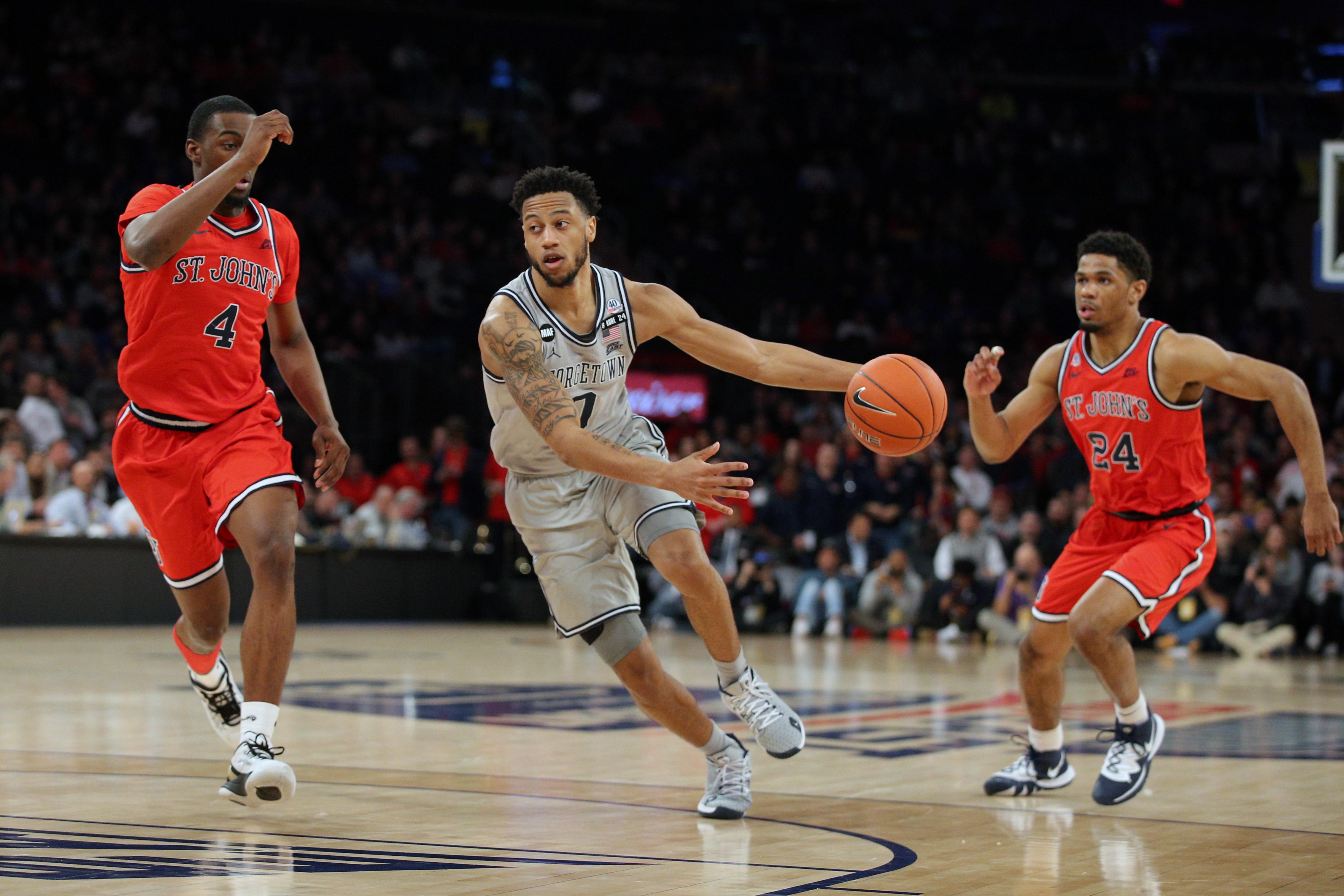 NCAA Basketball: Big East Tournament-Georgetown vs St. John's