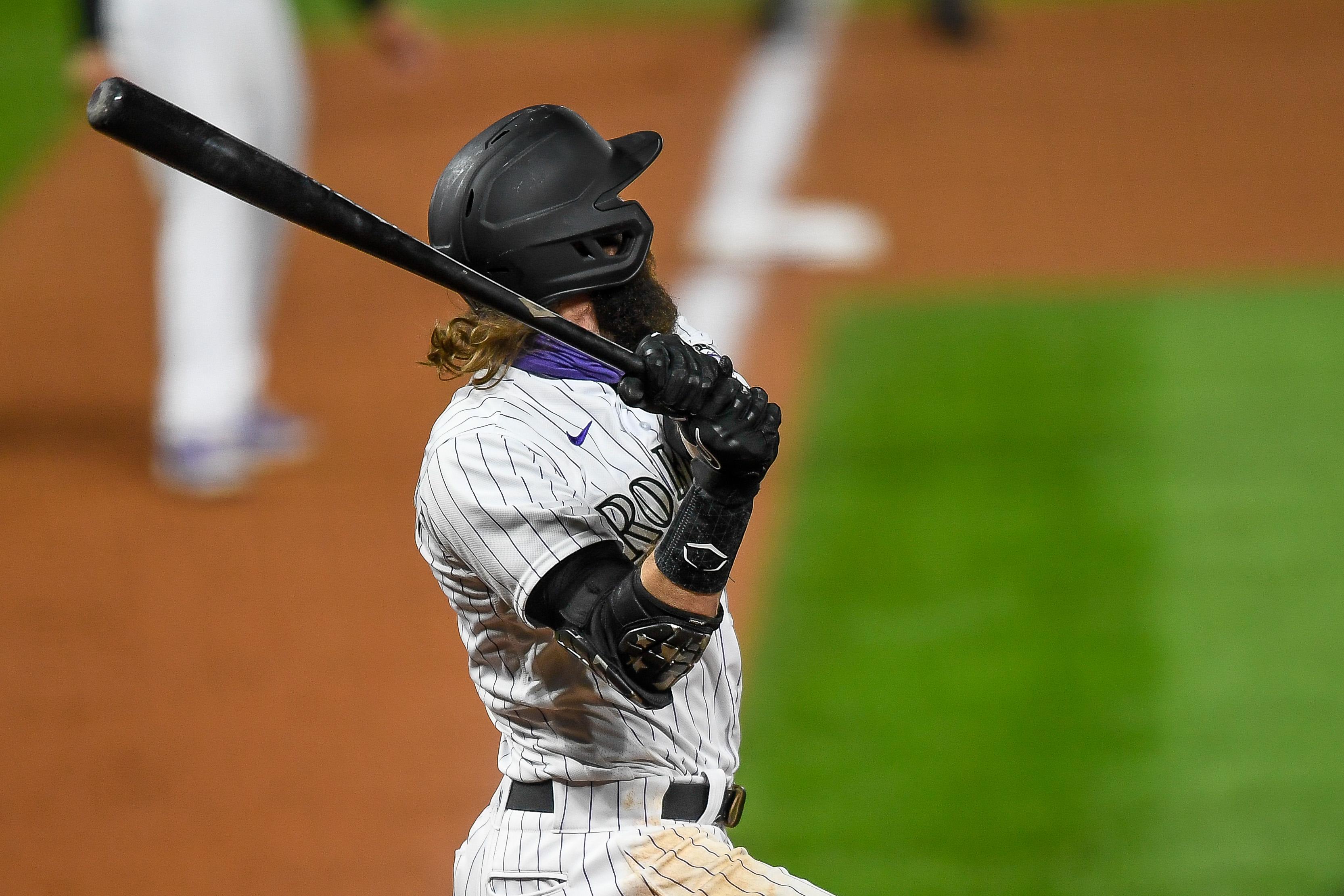 MLB: SEP 11 Angels at Rockies