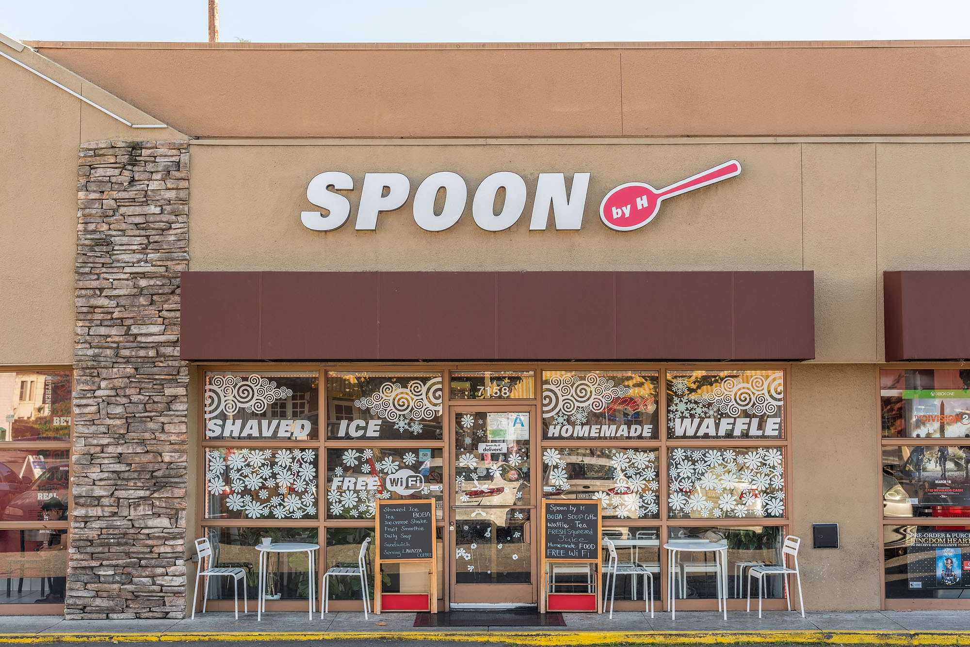 Spoon by H exterior in Los Angeles, California