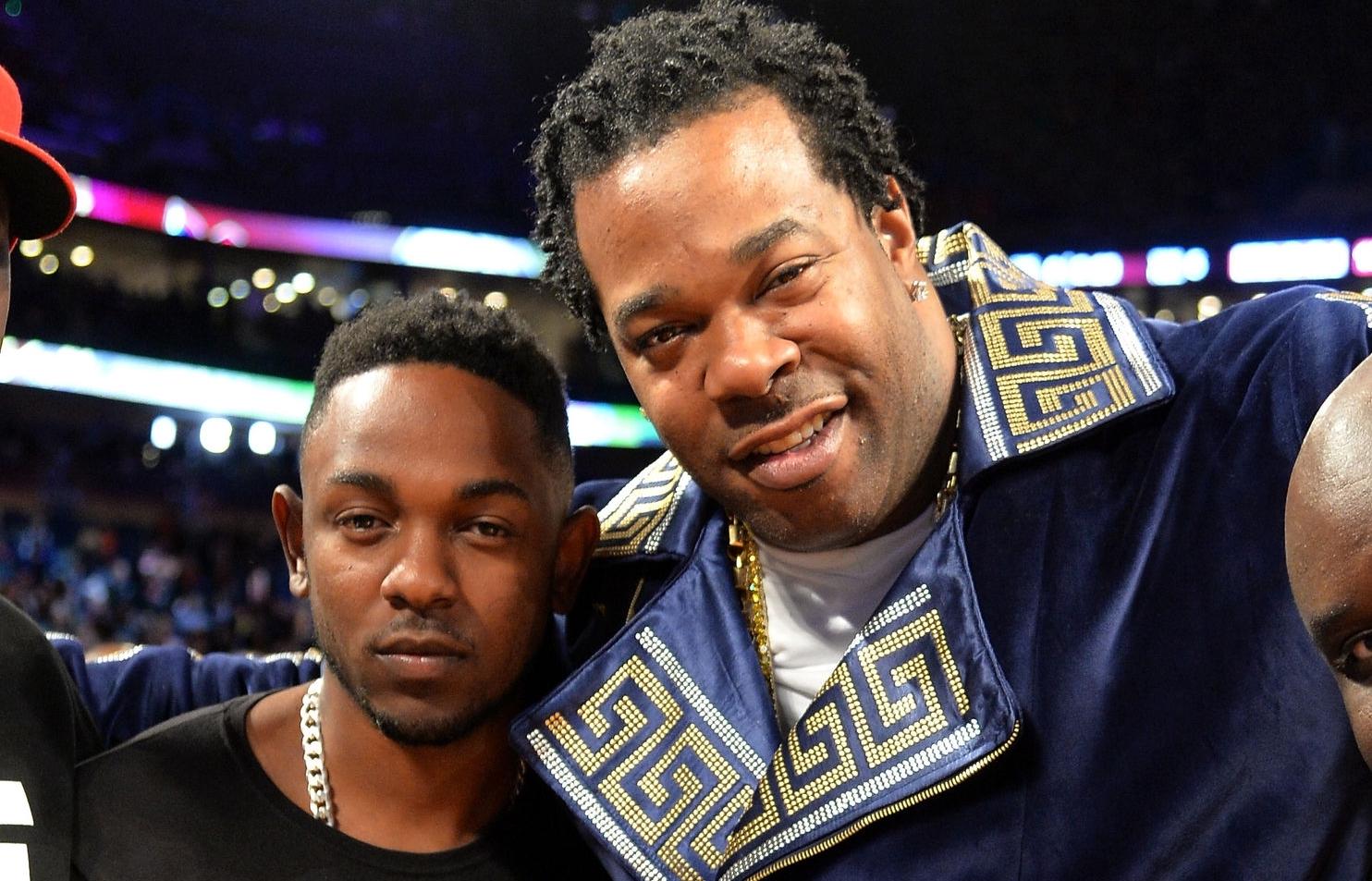 Kendrick Lamar and Busta Rhymes
