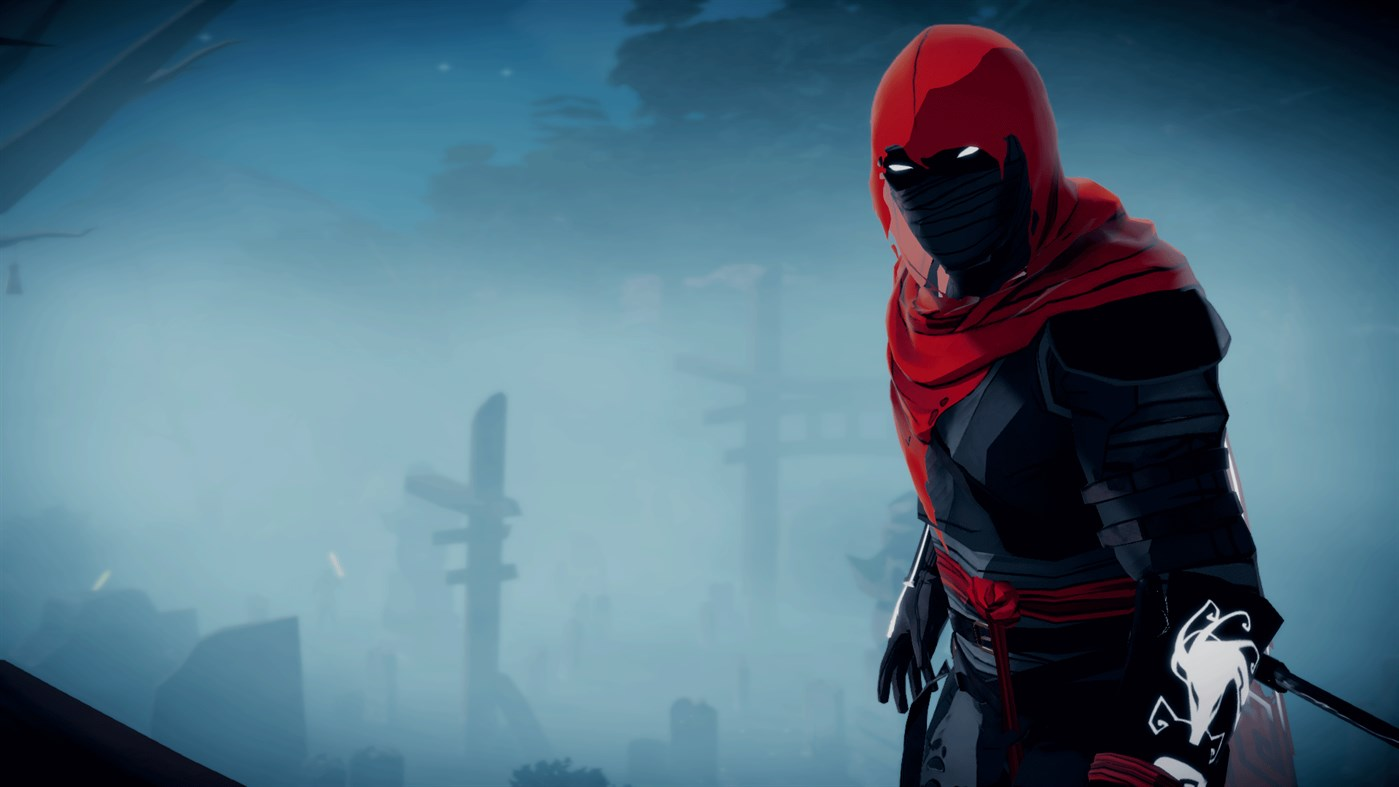 A still of the ninja Aragami from the game Aragami: Shadow Edition