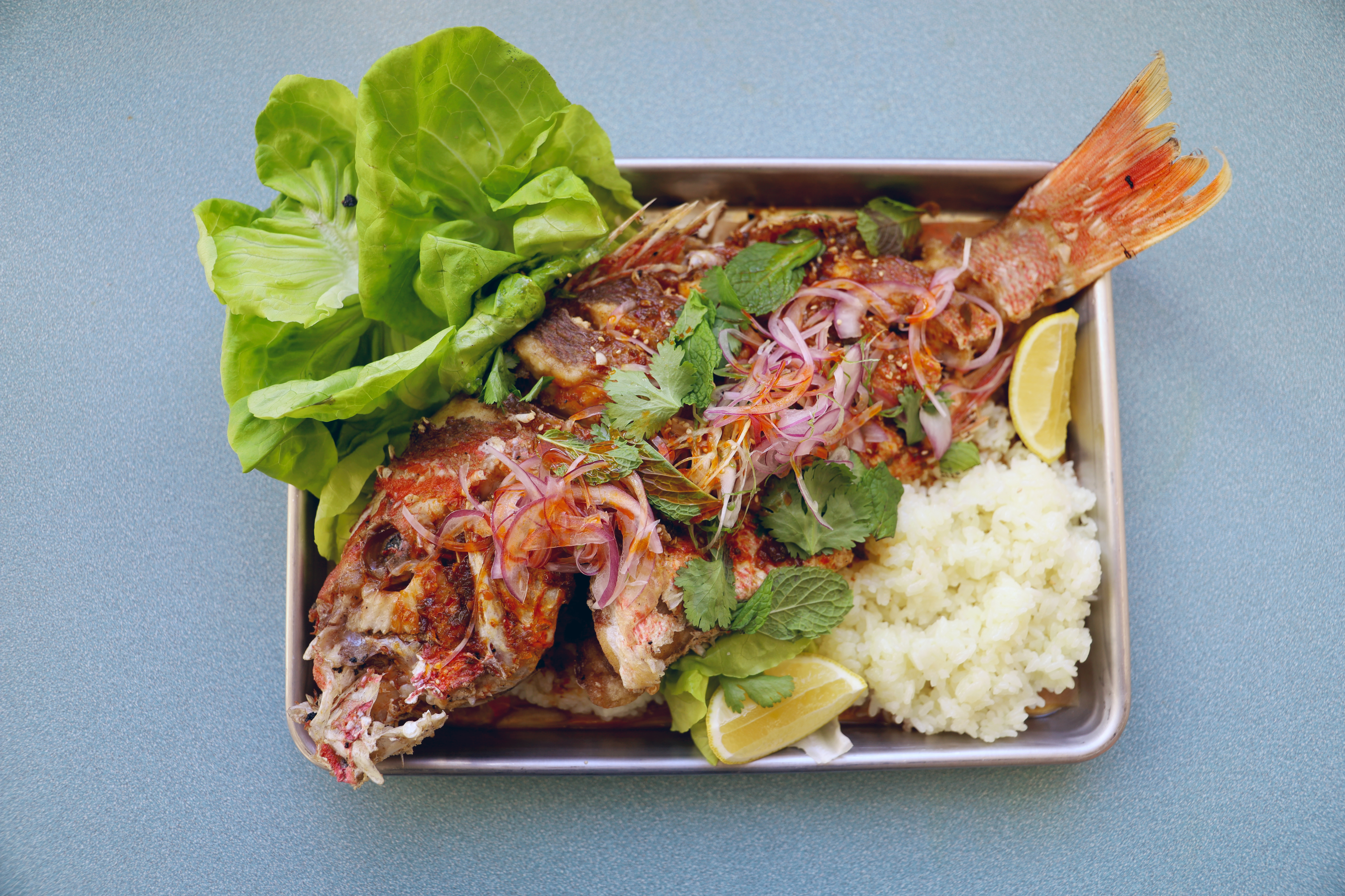 A fish dish from Salty Cargo