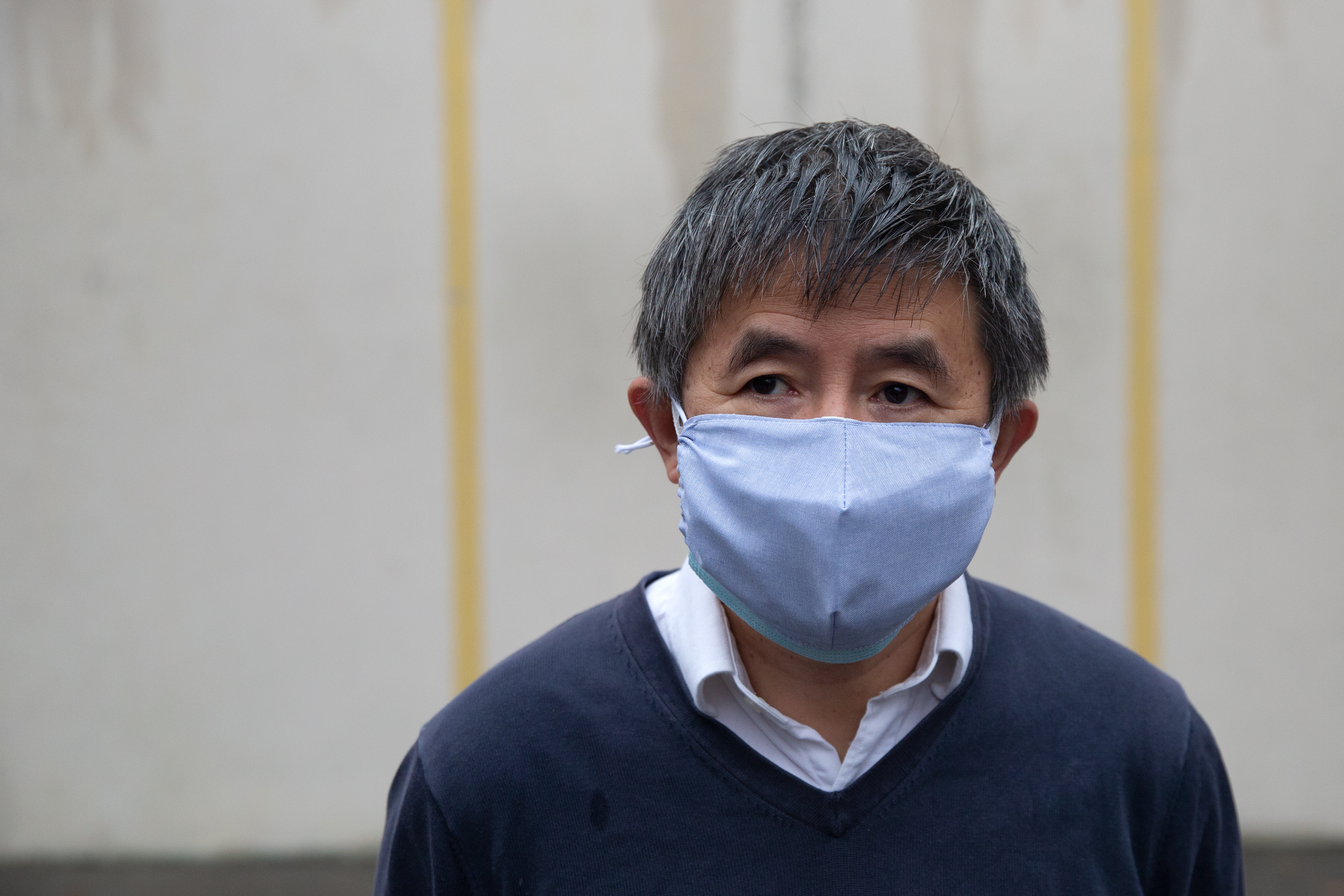 Chinese dissident and Queens resident Wan Yanhai, Oct. 28, 2020.