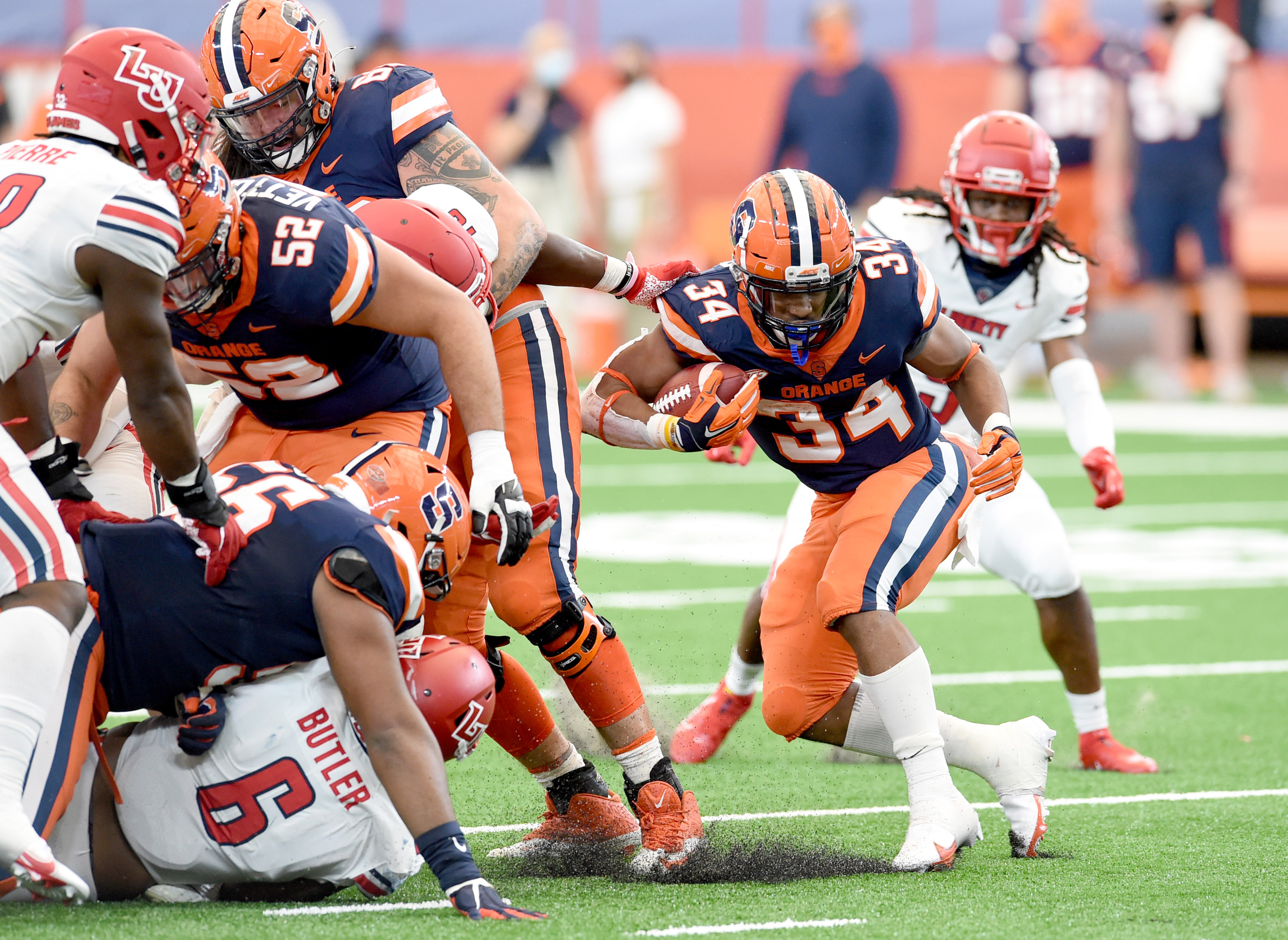 NCAA Football: Liberty at Syracuse