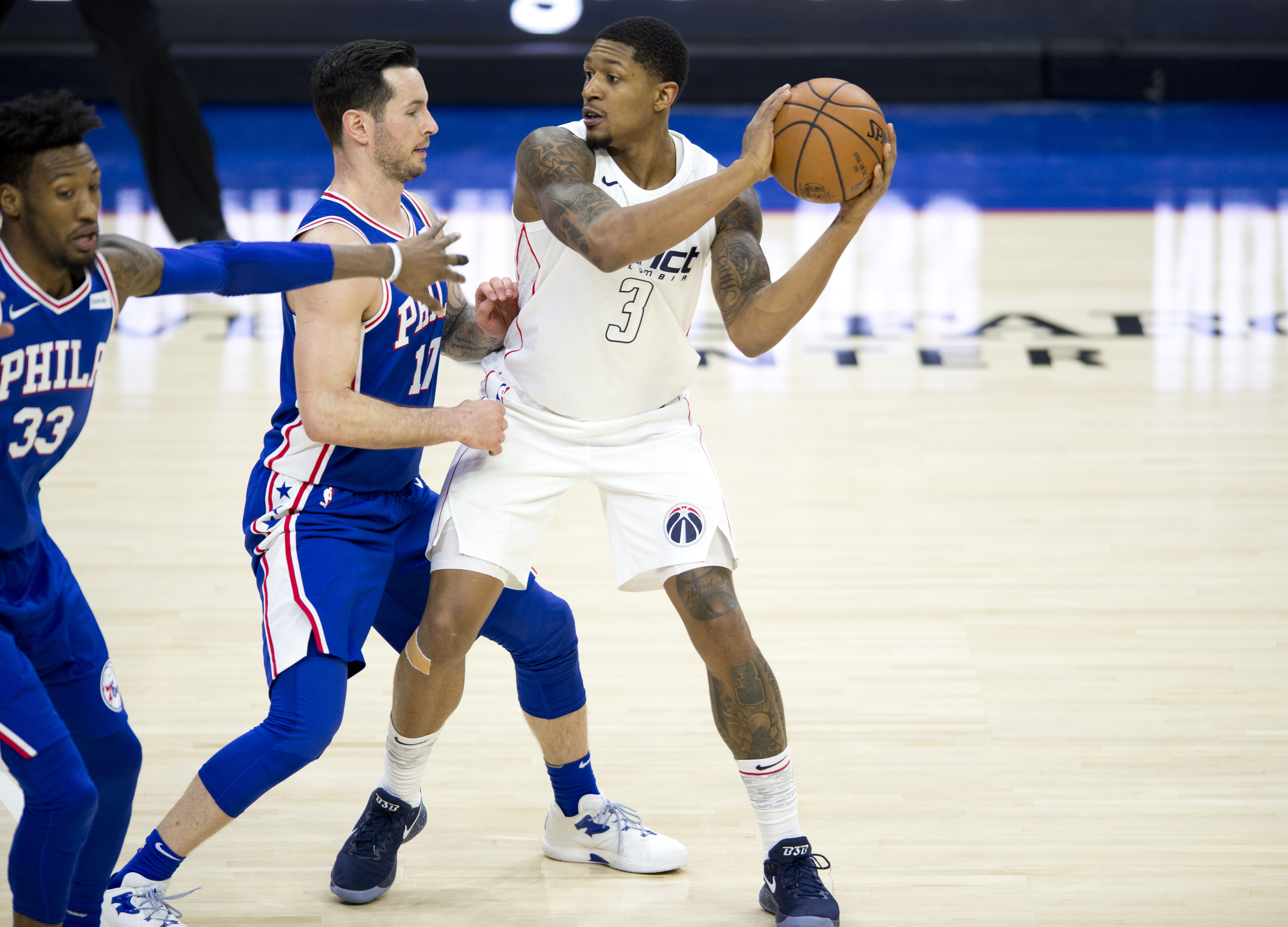 NBA: FEB 06 Wizards at 76ers