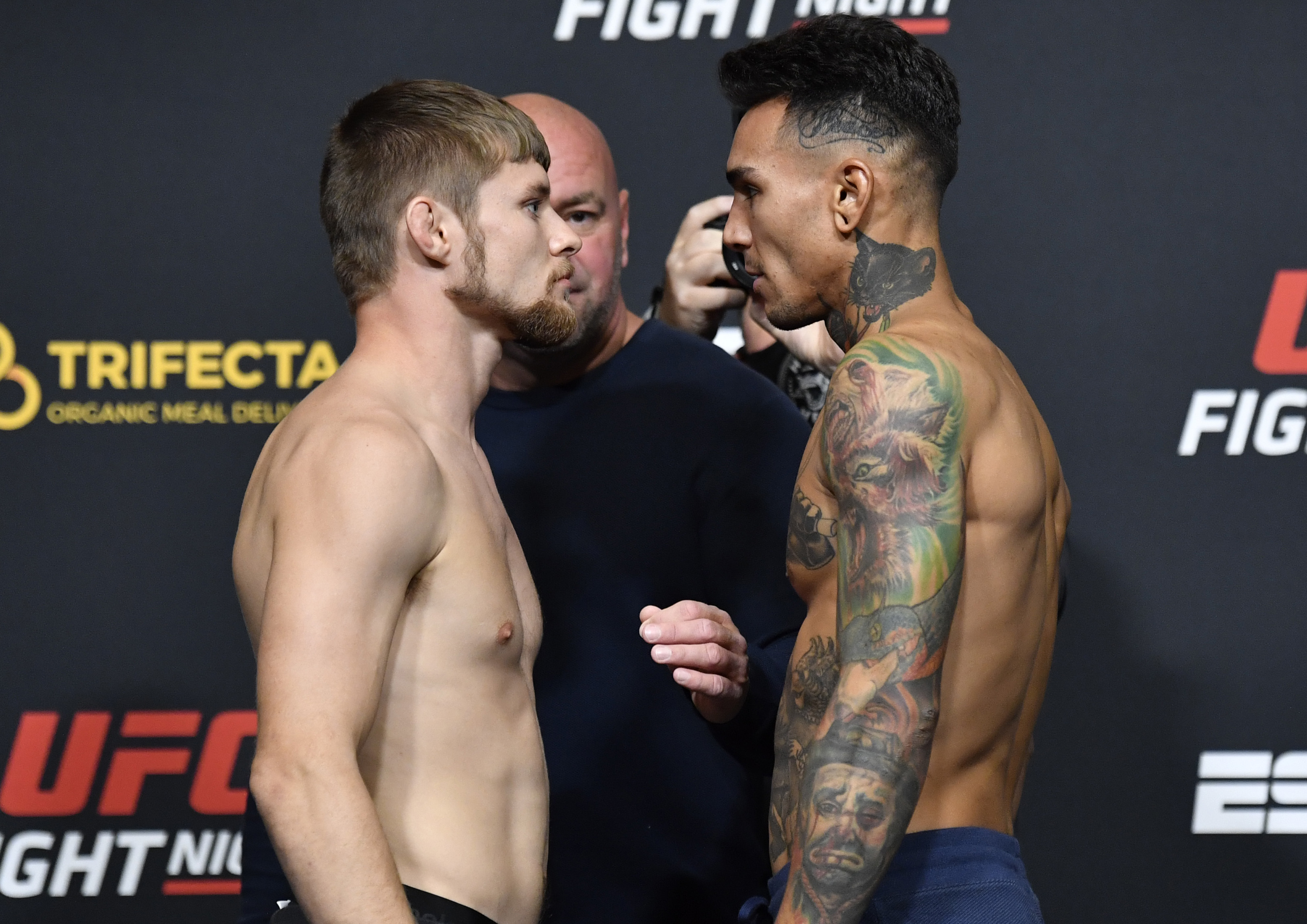 Bryce Mitchell and Andre Fili at UFC Vegas 12