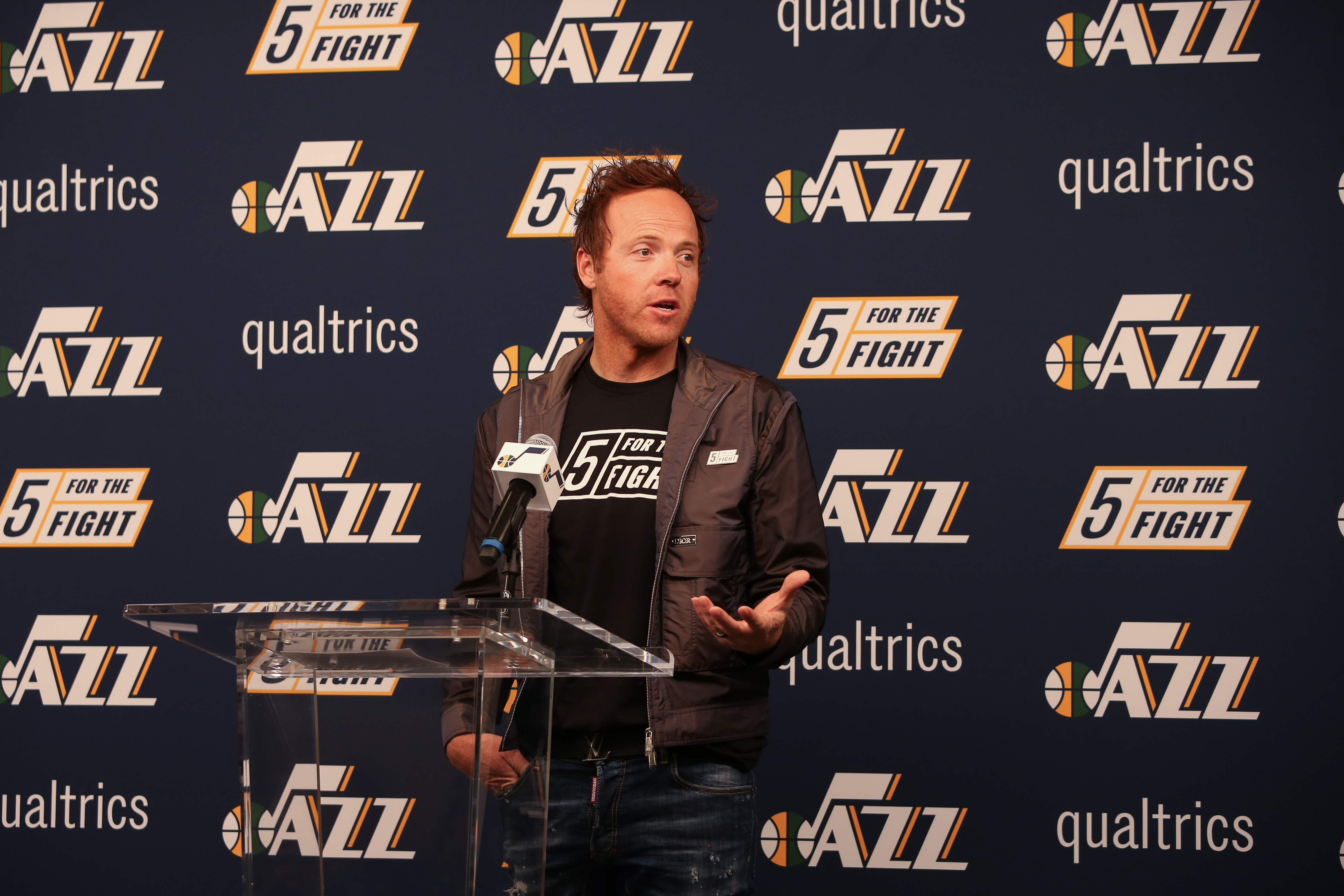 Utah Jazz Jersey Patch Announcement