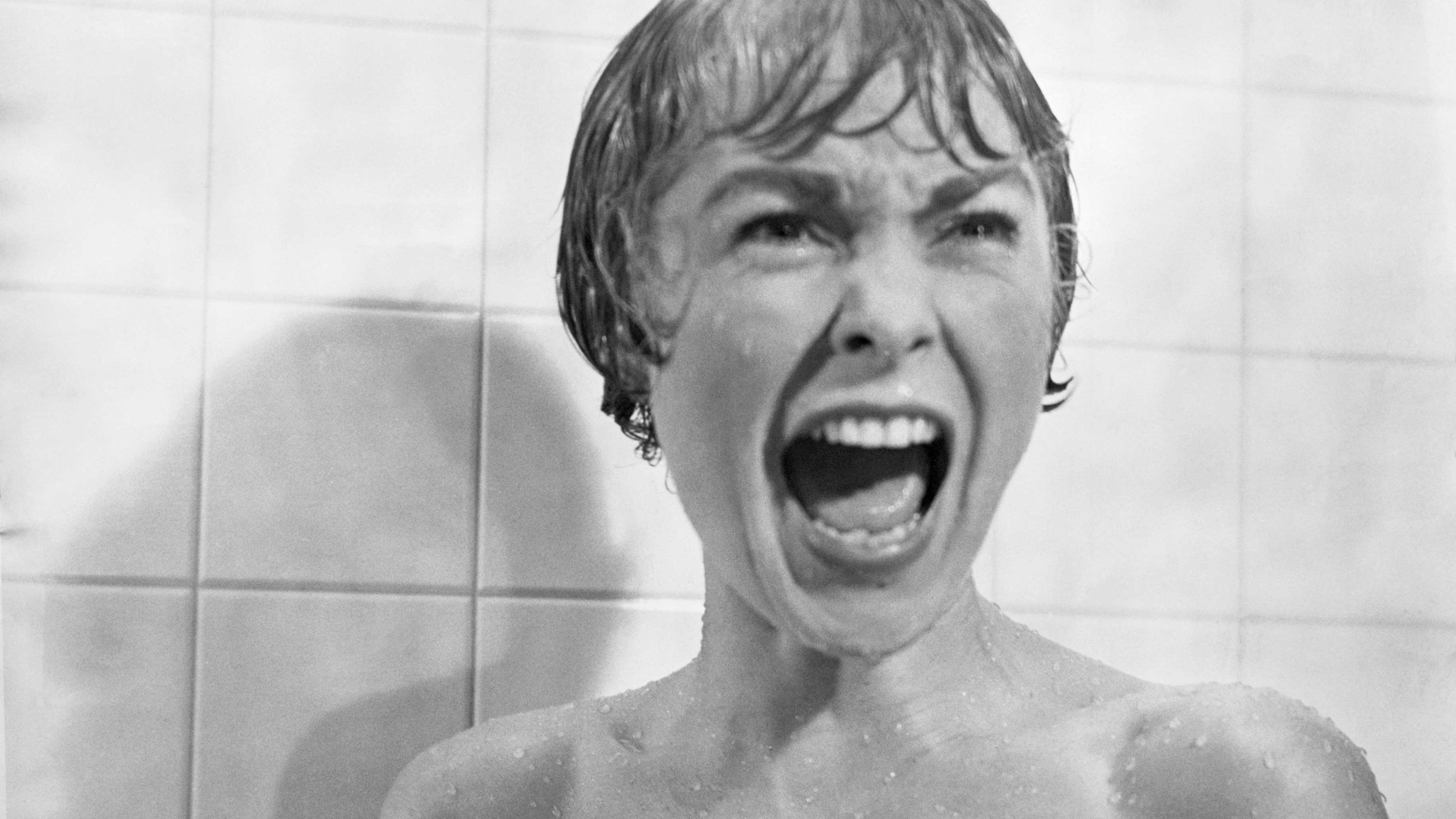 Janet Leigh's iconic scream in Psycho