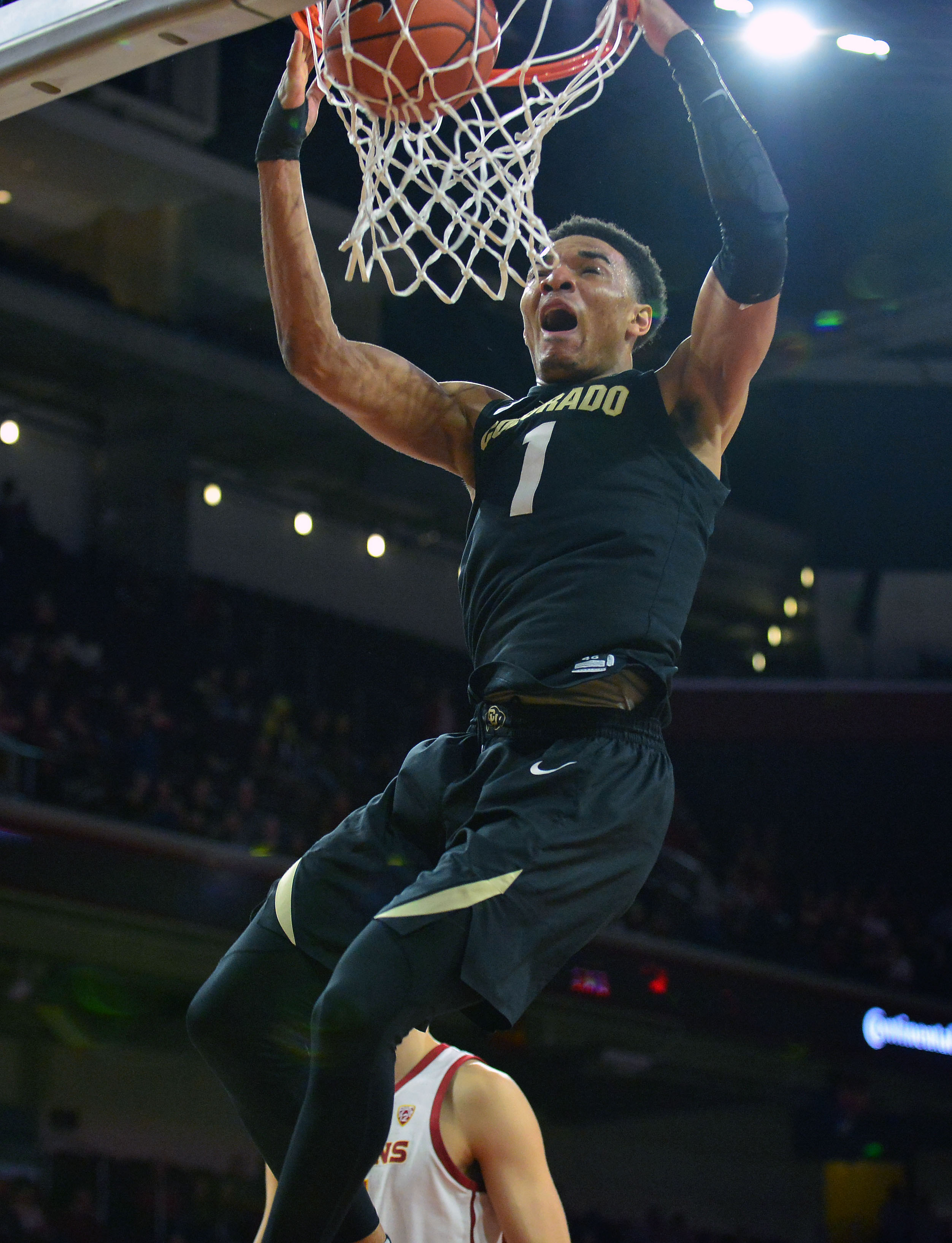 NCAA Basketball: Colorado at Southern California