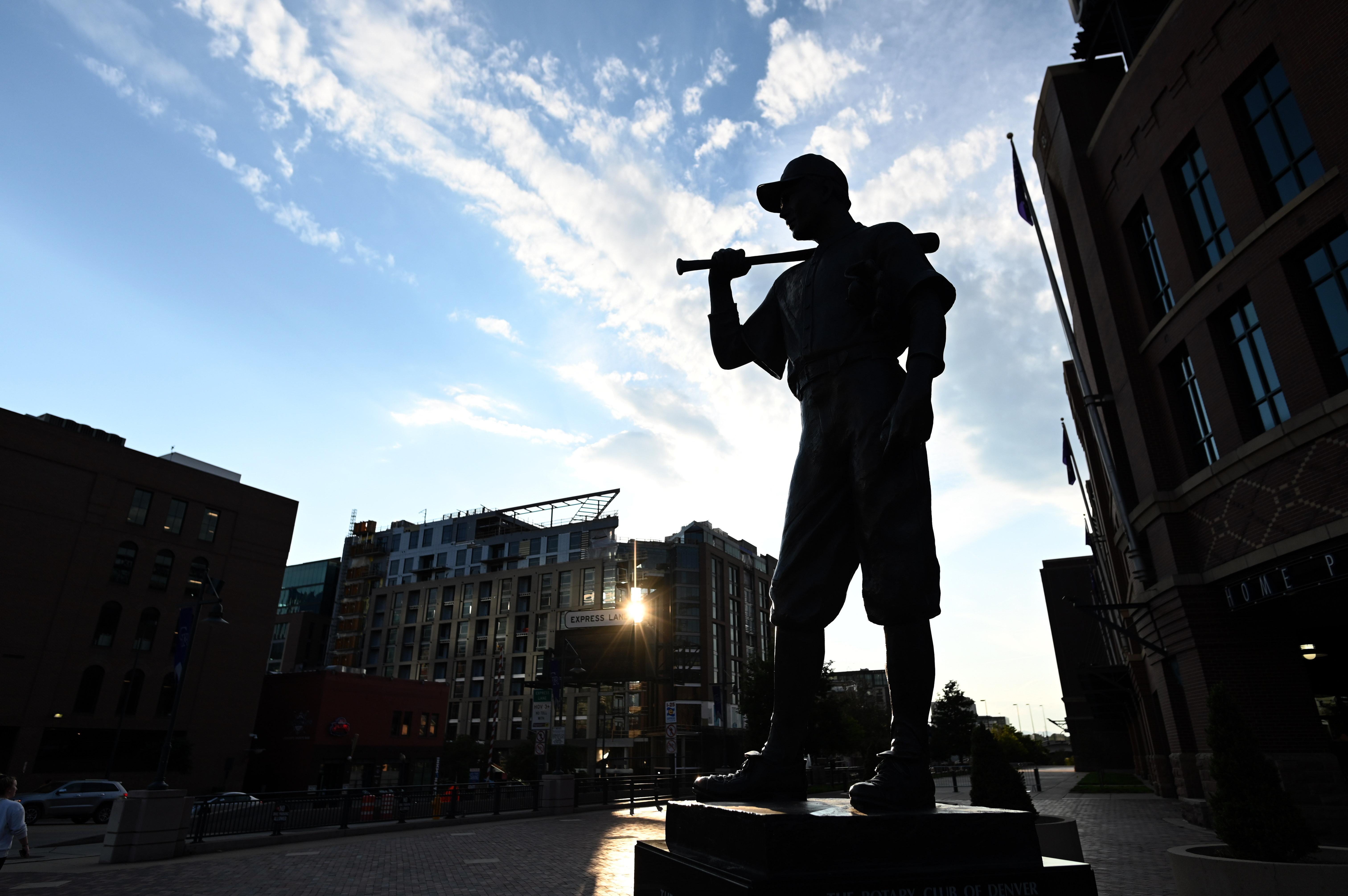 MLB: San Francisco Giants at Colorado Rockies