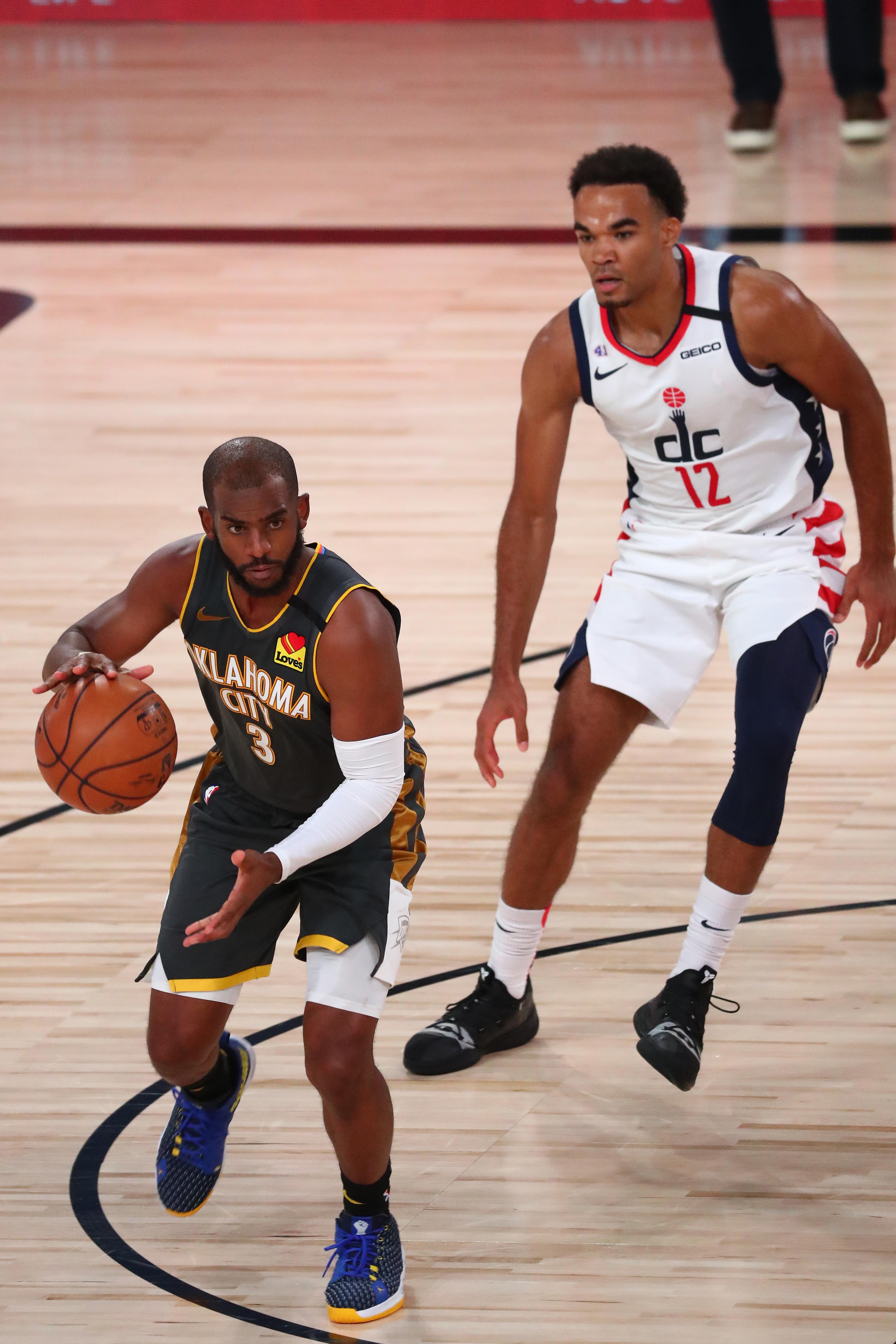 Washington Wizards at Oklahoma City Thunder