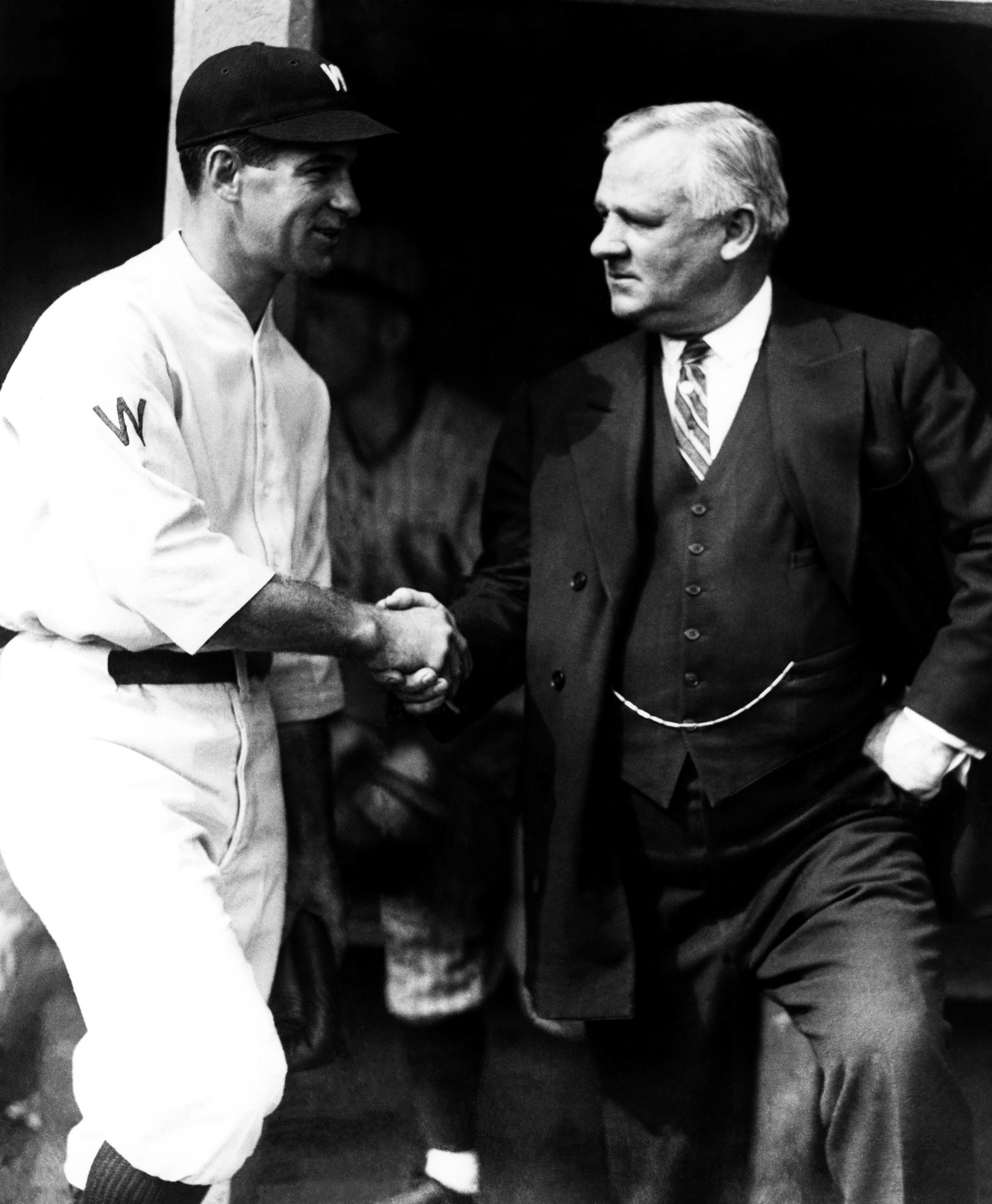 1924 World Series - Game 1: New York Giants v Washington Senators