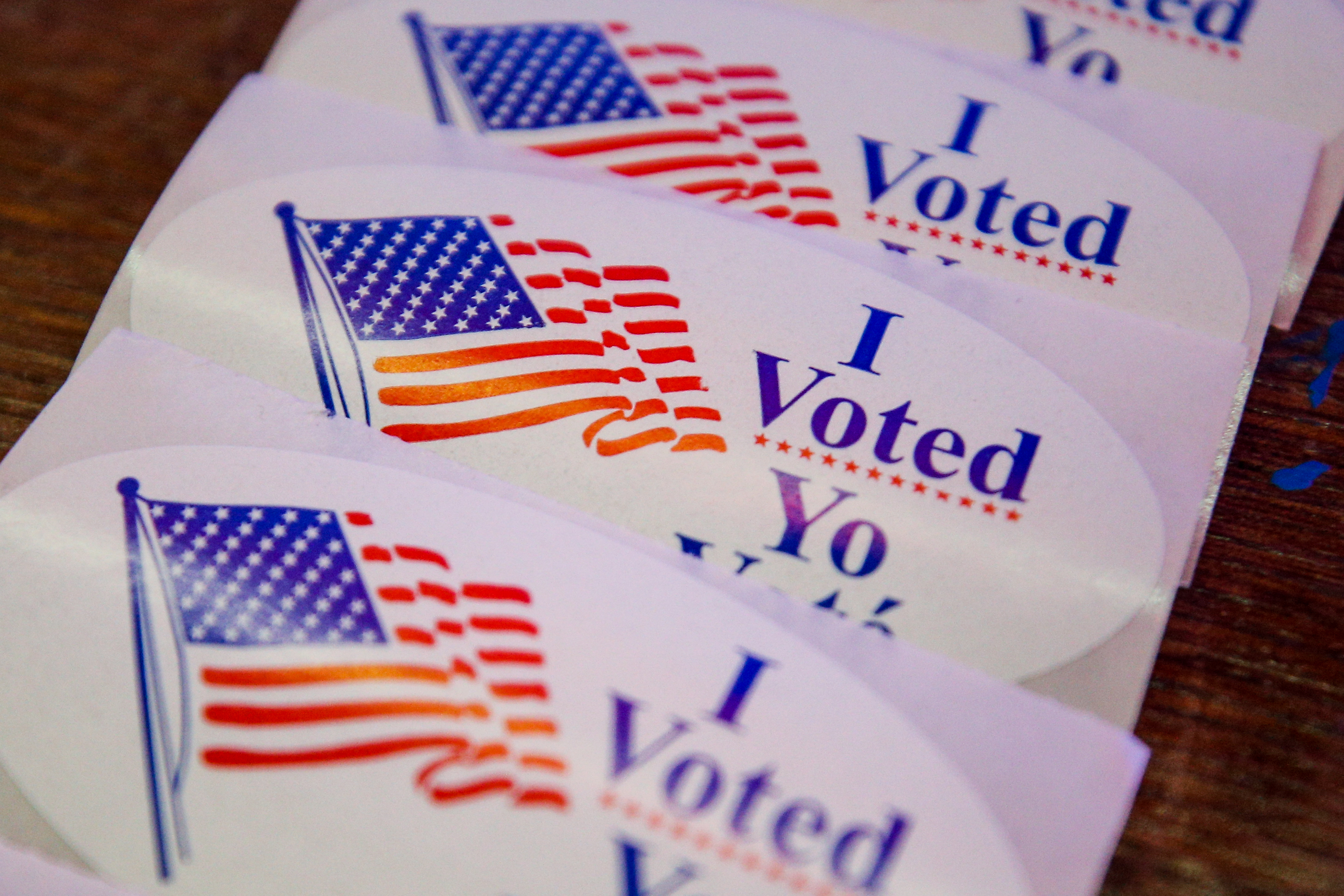 United States in run-up to 2020 elections