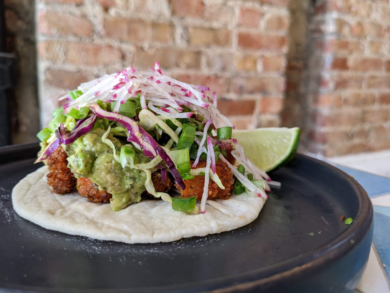 Taqueria de Beirut plays with Mexican and Lebanese flavors.