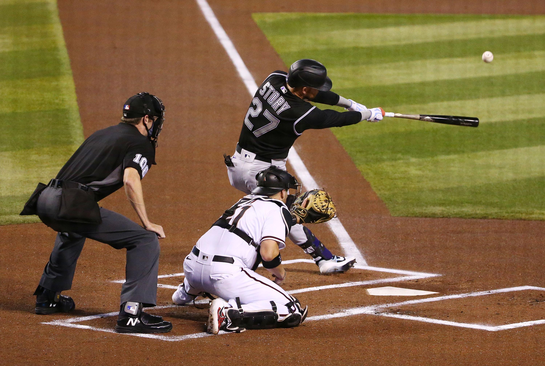MLB: Game Two-Colorado Rockies at Arizona Diamondbacks