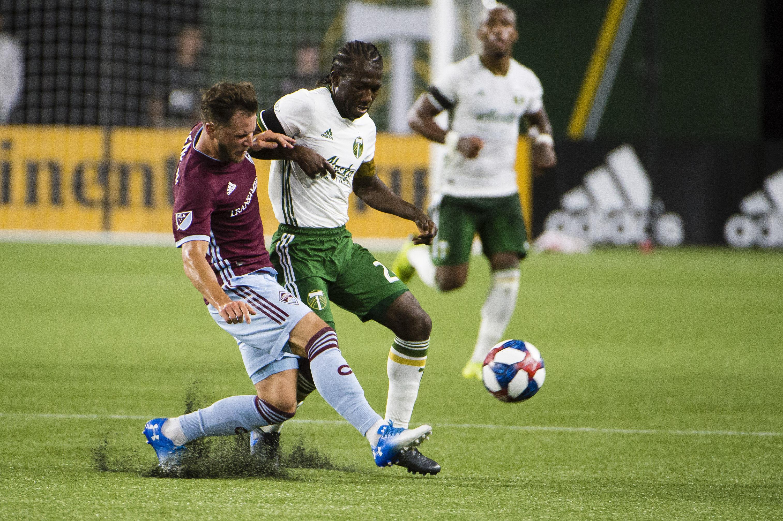 MLS: Colorado Rapids at Portland Timbers