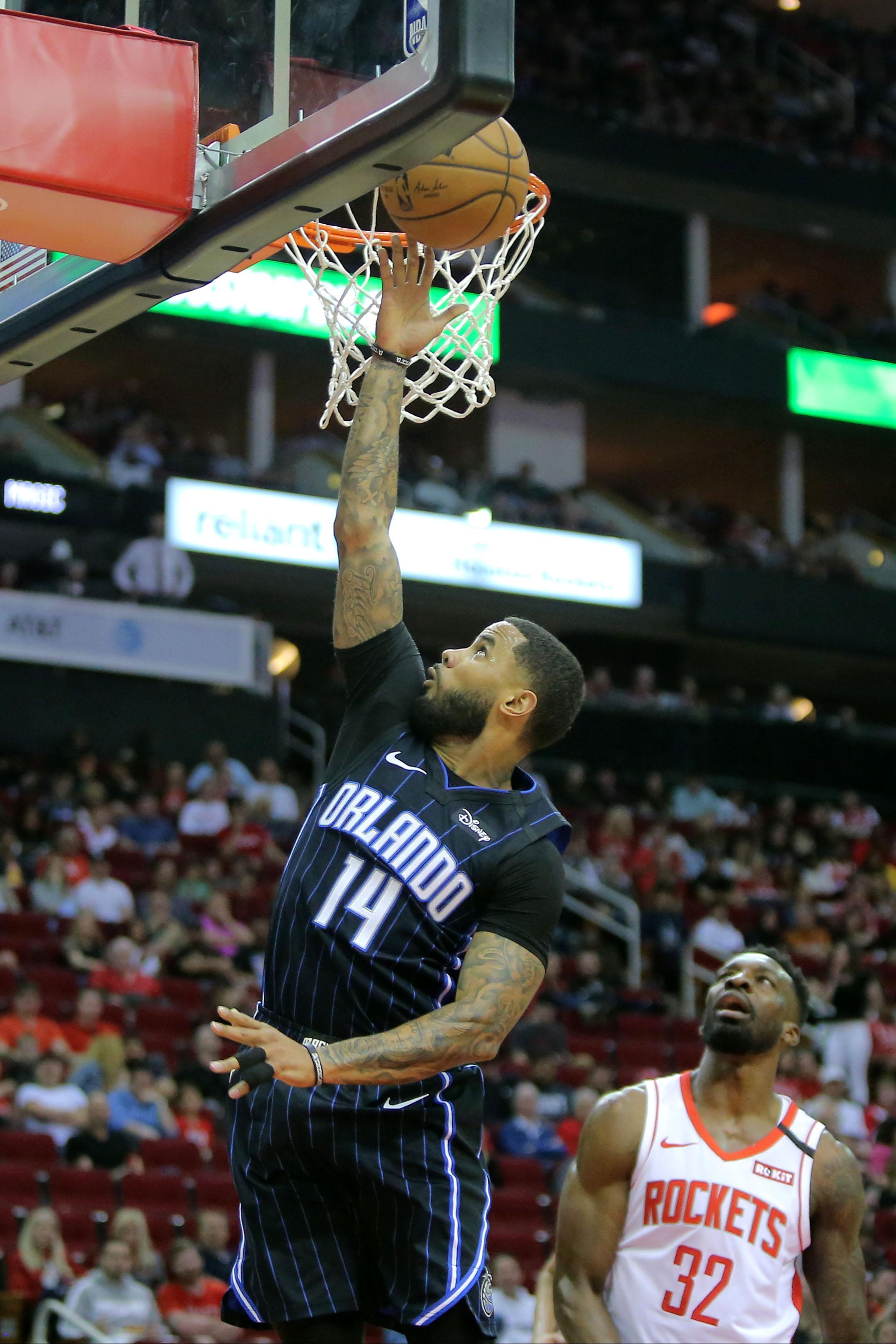NBA: Orlando Magic at Houston Rockets
