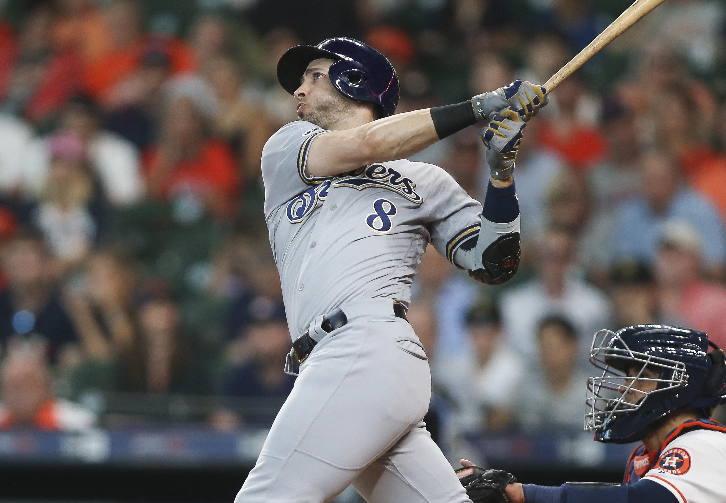 MLB: Milwaukee Brewers at Houston Astros