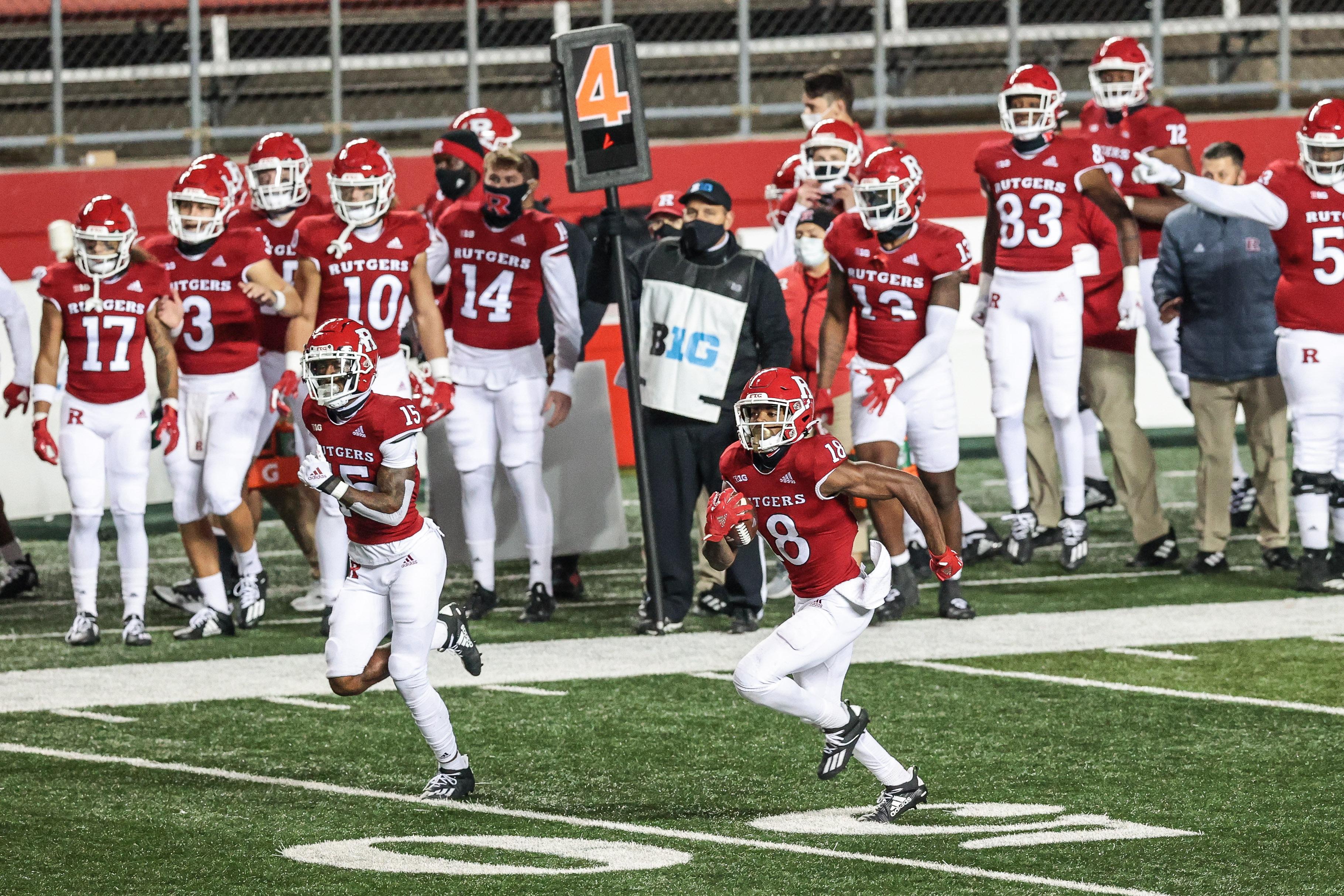 NCAA Football: Indiana at Rutgers