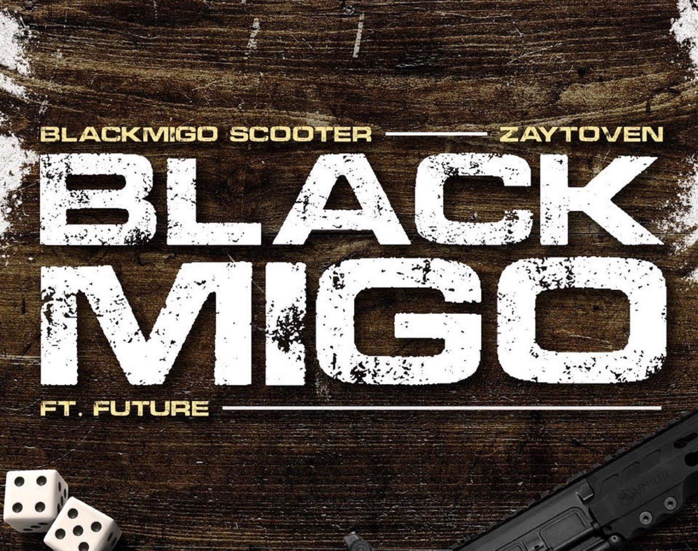 """Young Scooter's """"Black Migo"""" artwork"""