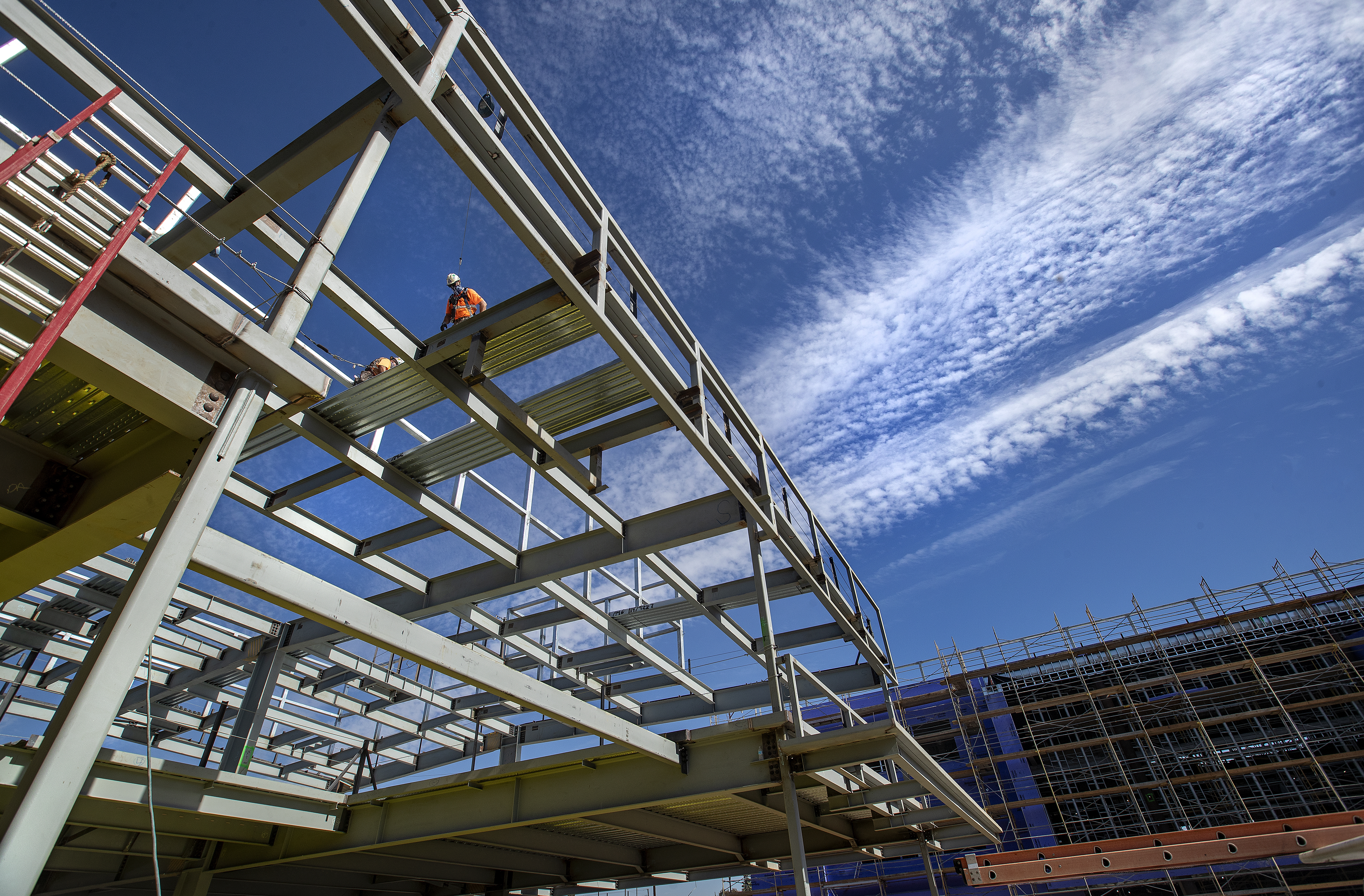 Cleveland High School undergoes a comprehensive modernization project.