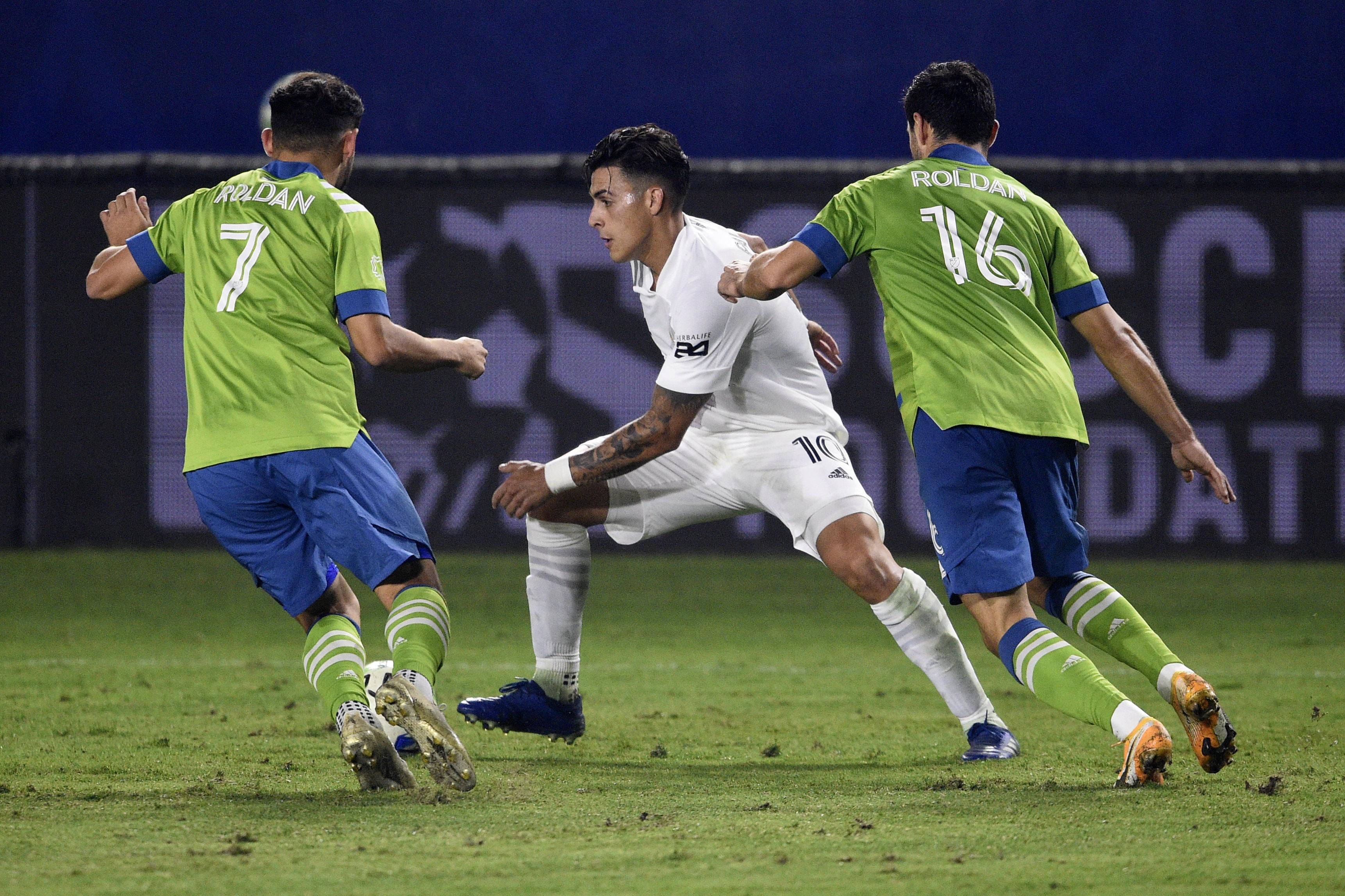 MLS:西雅图探测器FC在La Galaxy