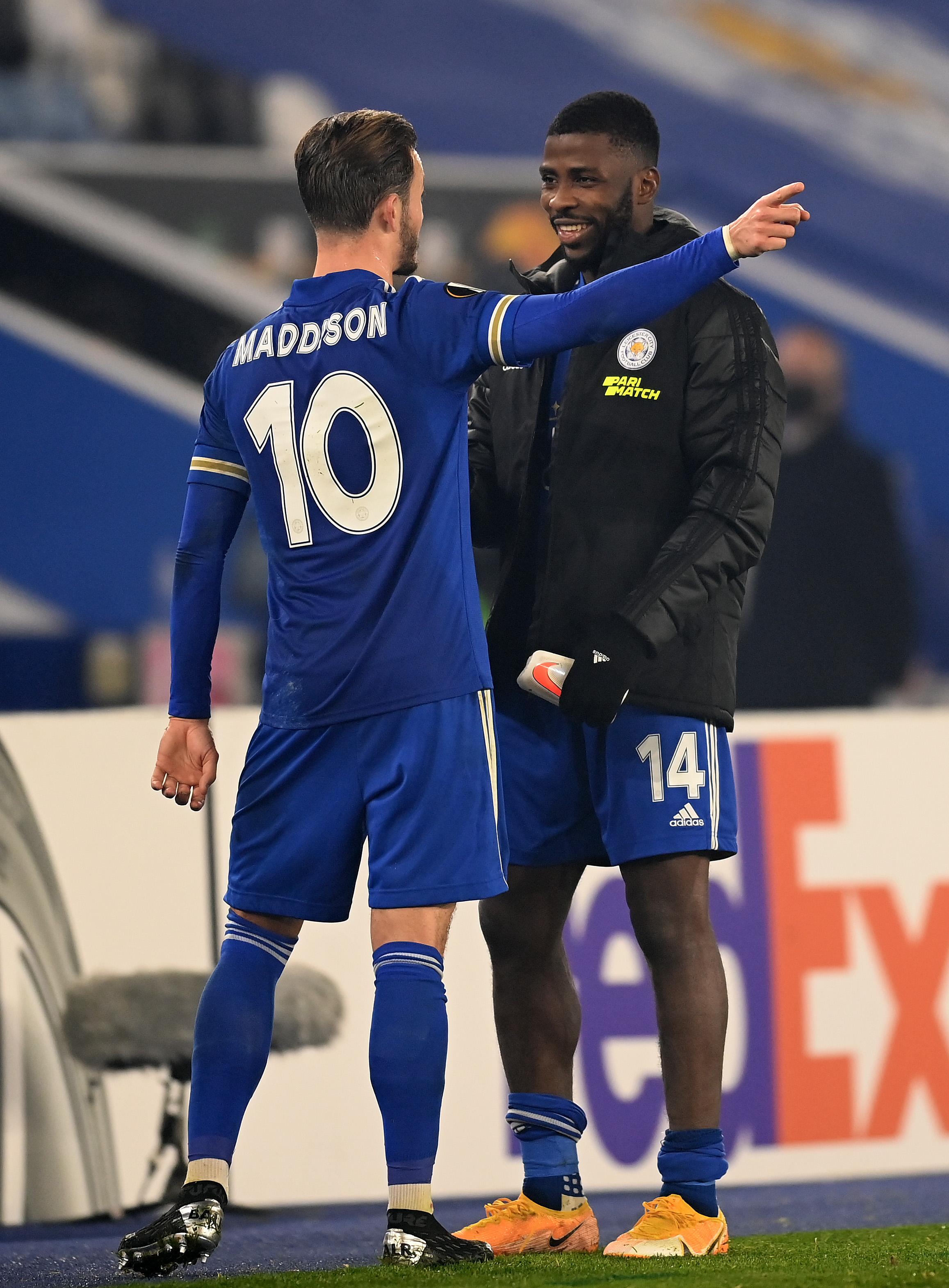 Leicester City v SC Braga: Group G - UEFA Europa League