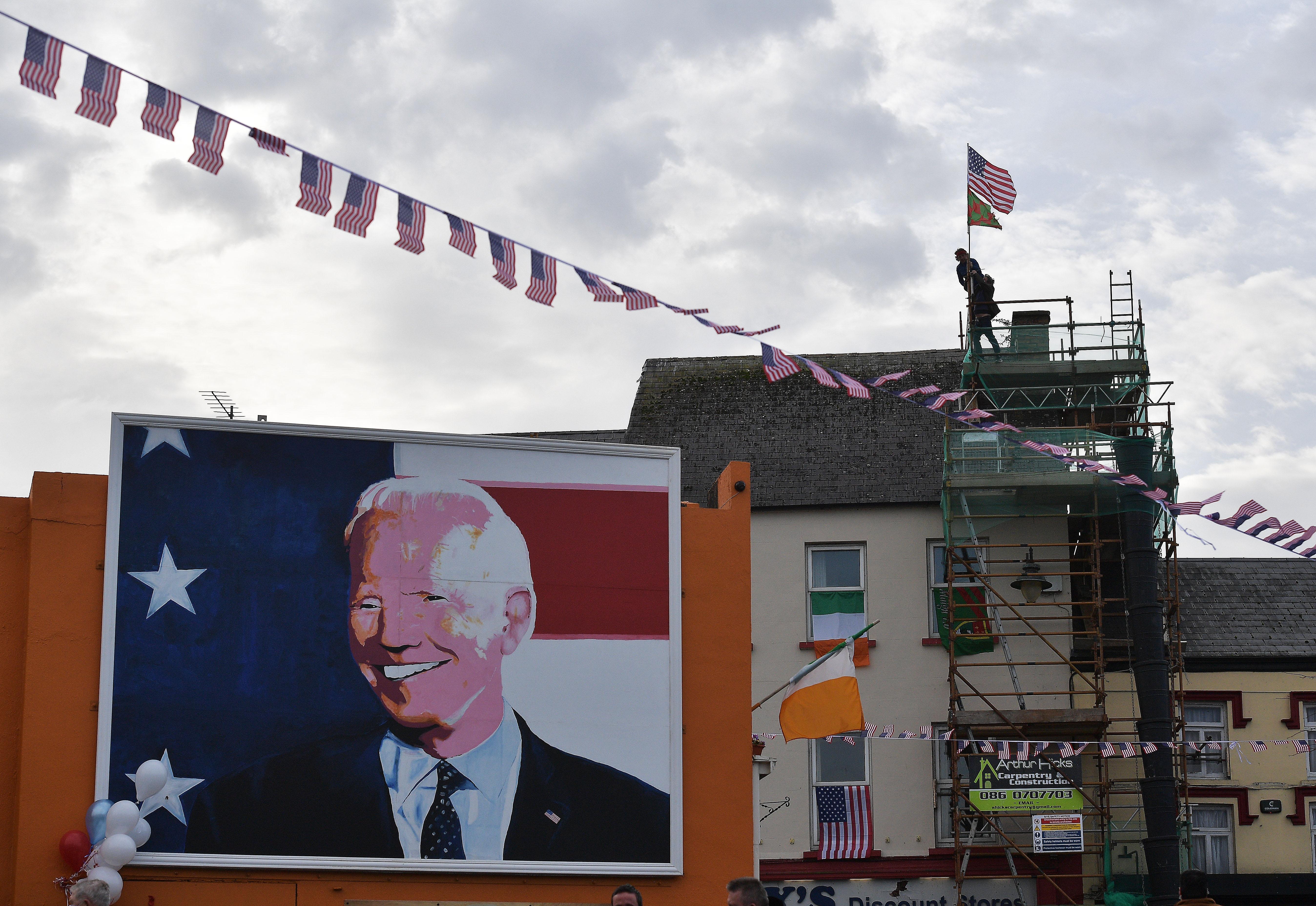 Irish Relatives Of Joe Biden Celebrate His Presidential Victory