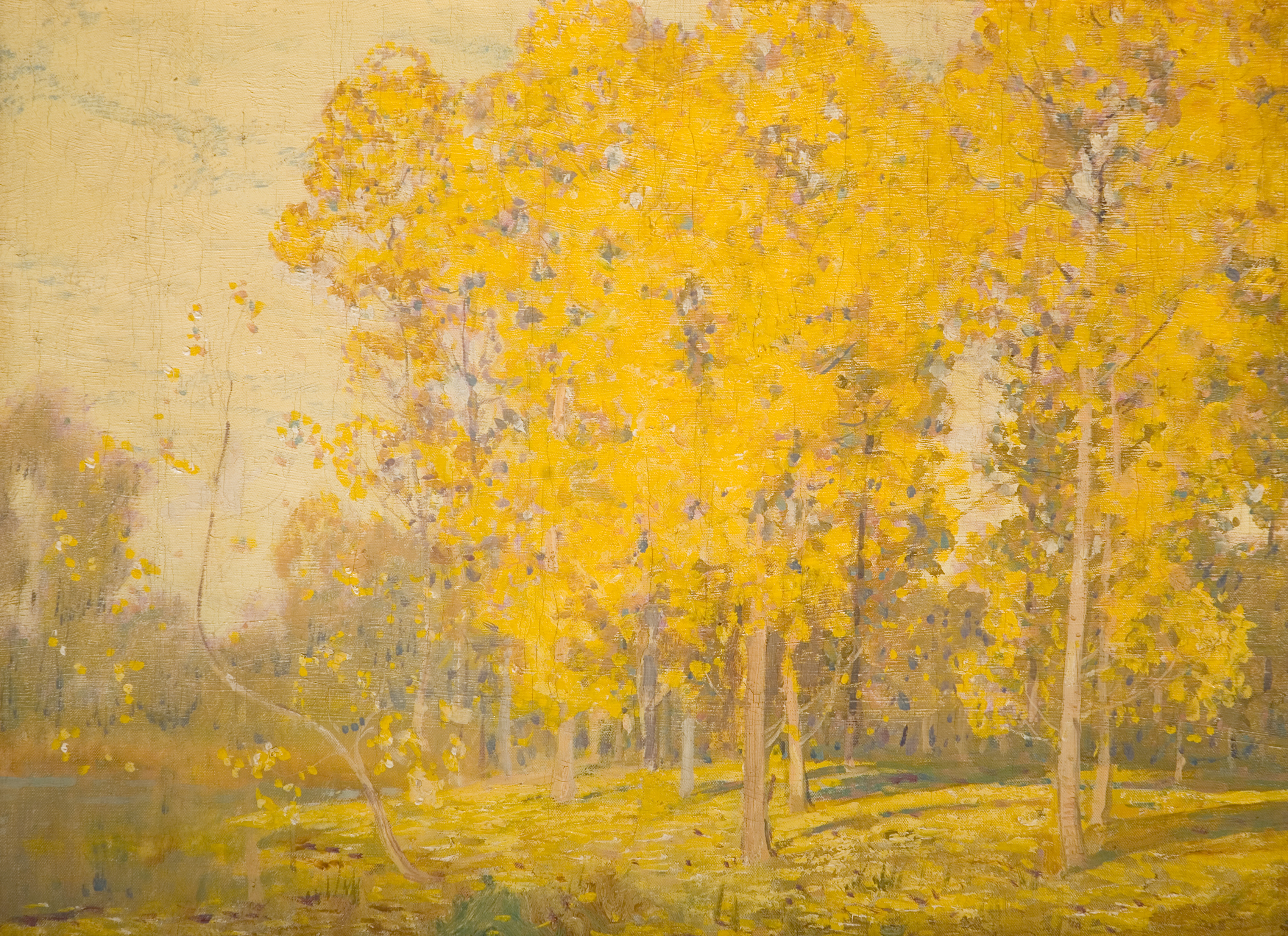 Landscape with Trees-'Autumn'